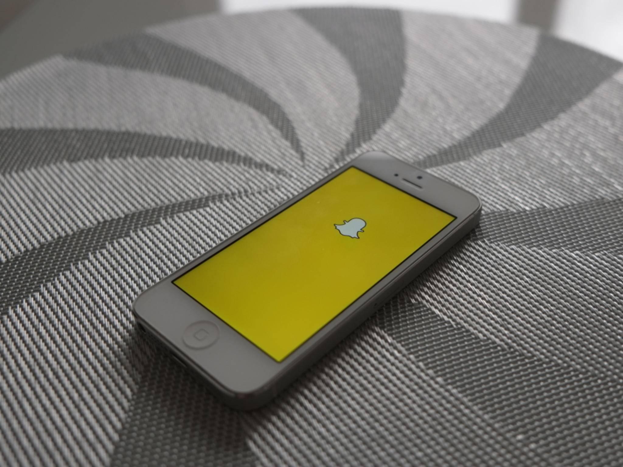 Snapchat für iOS hat nach einem Update eine neue Schriftart.