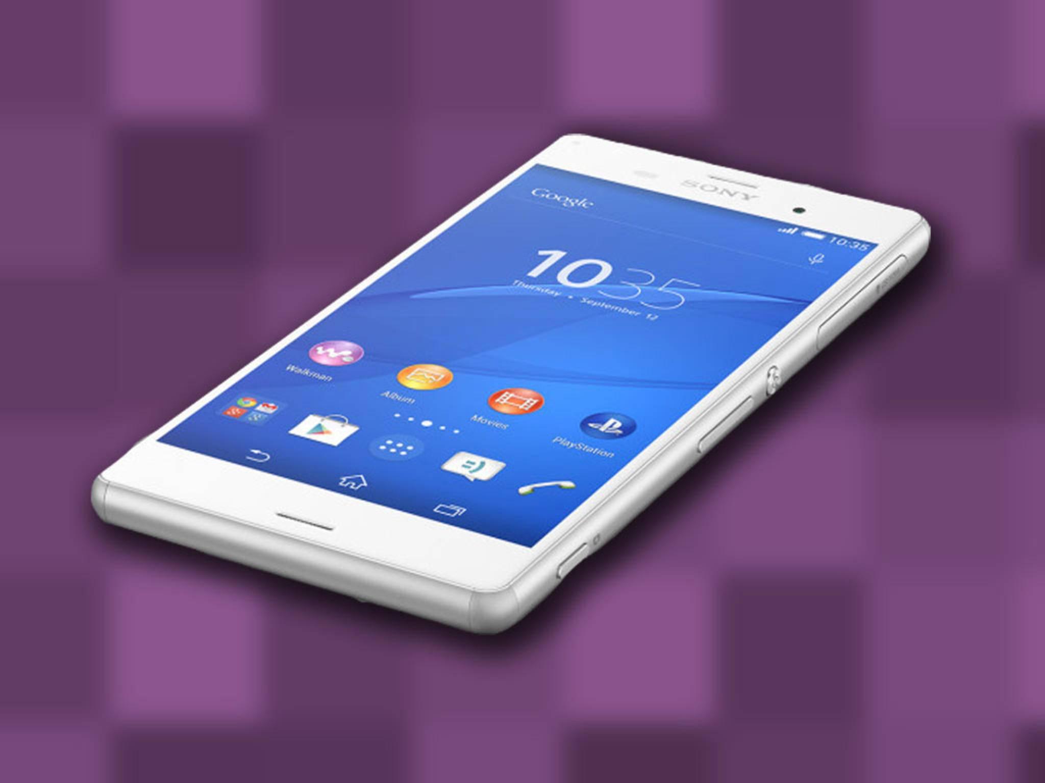 Das Sony Xperia Z4: In Deutschland könnte es zum Z3+ mutieren.