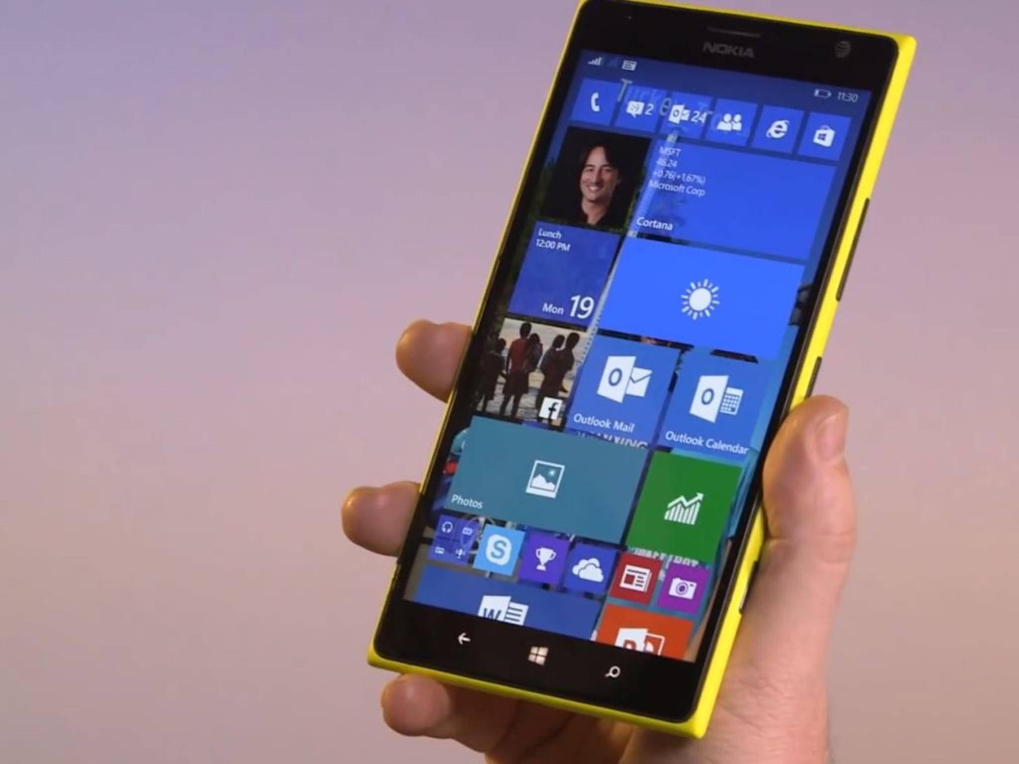 Die neue Build-Version von Windows 10 ist jetzt für viele Lumia-Smartphones verfügbar.