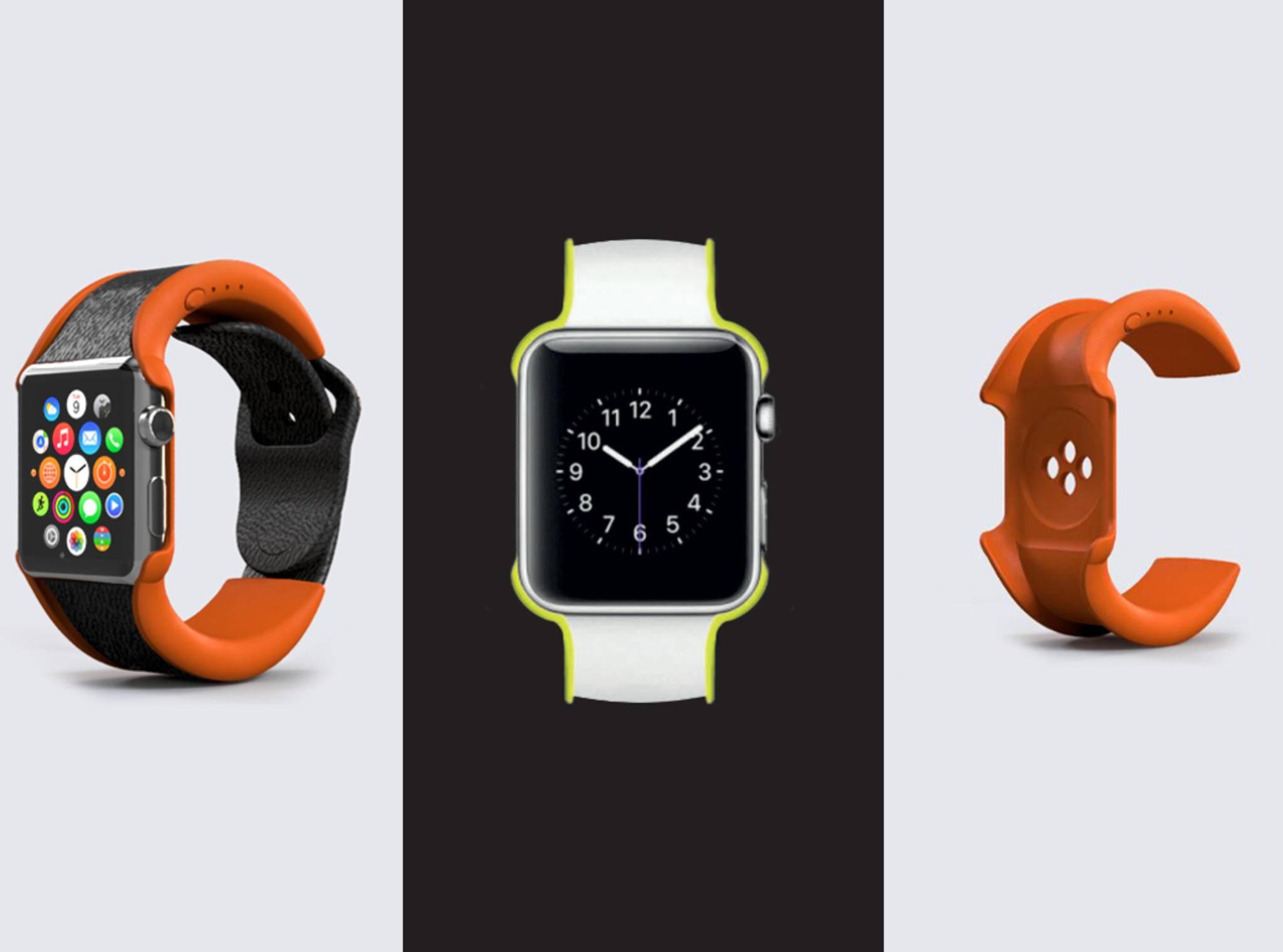 Das Wipowerband soll die Akkulaufzeit der Apple Watch verdoppeln.