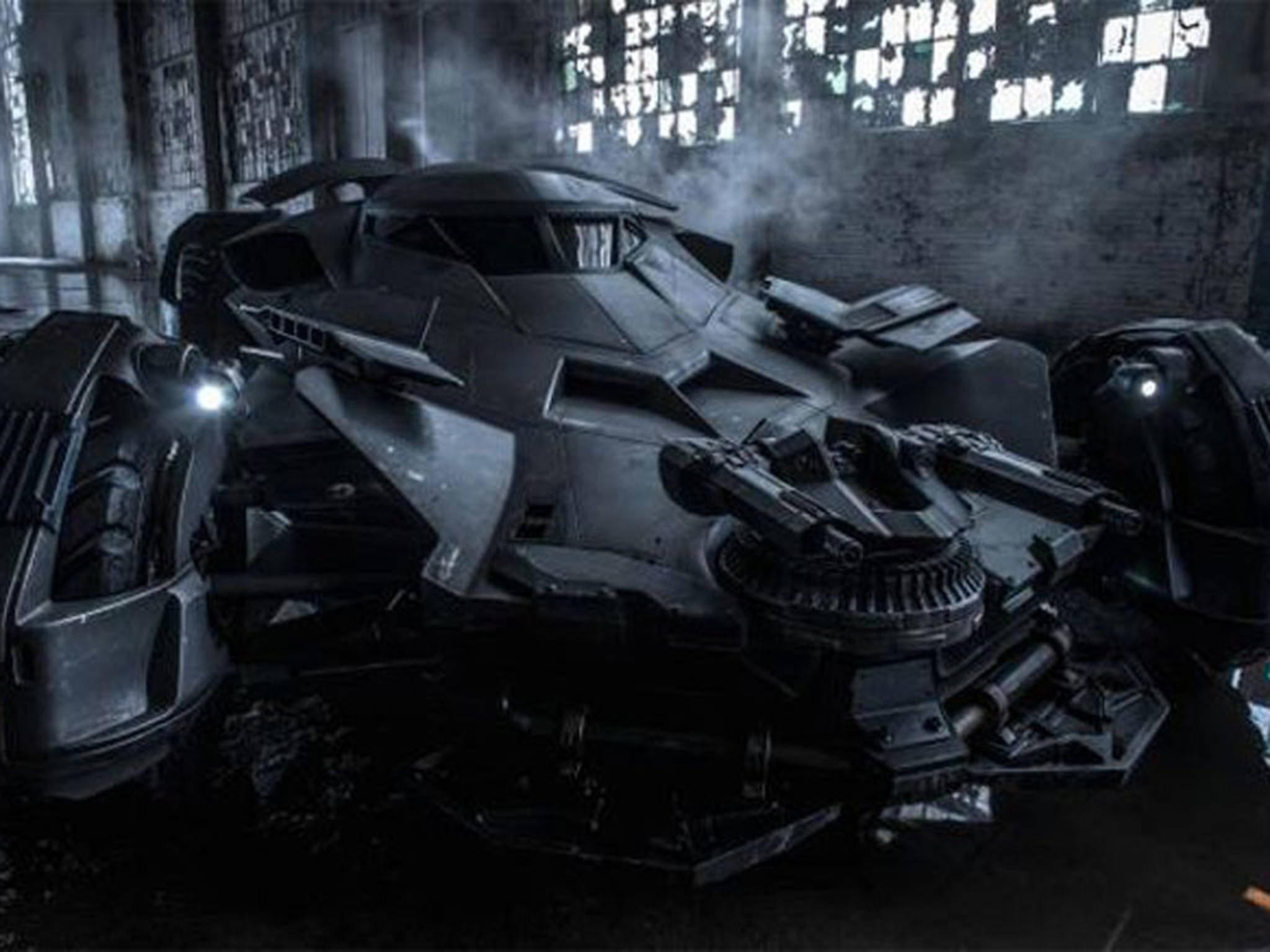 Das Batmobile wird auch wieder zum Einsatz kommen.