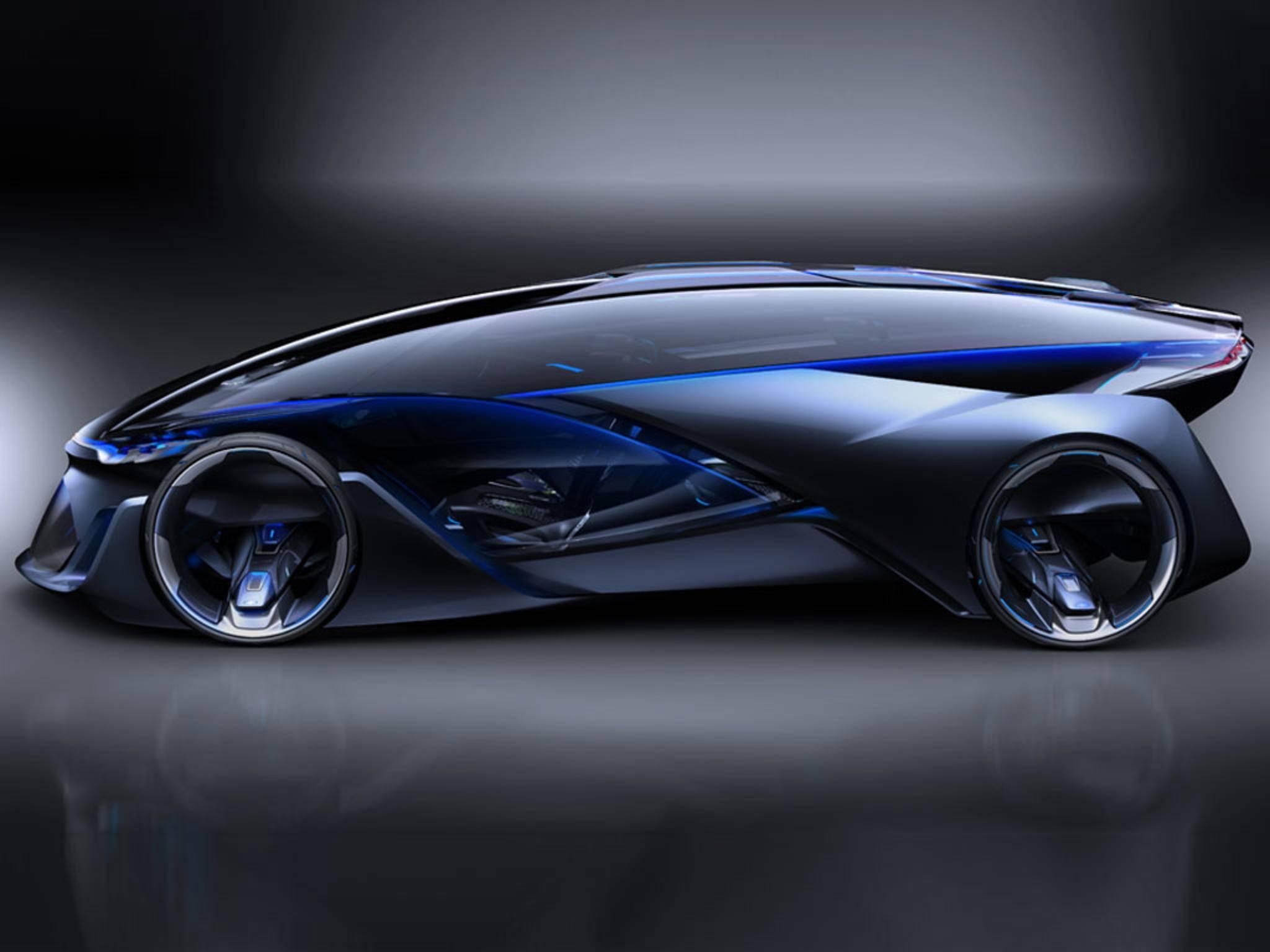 Der Chevrolet-FNR ist ein selbstfahrendes Elektroauto.