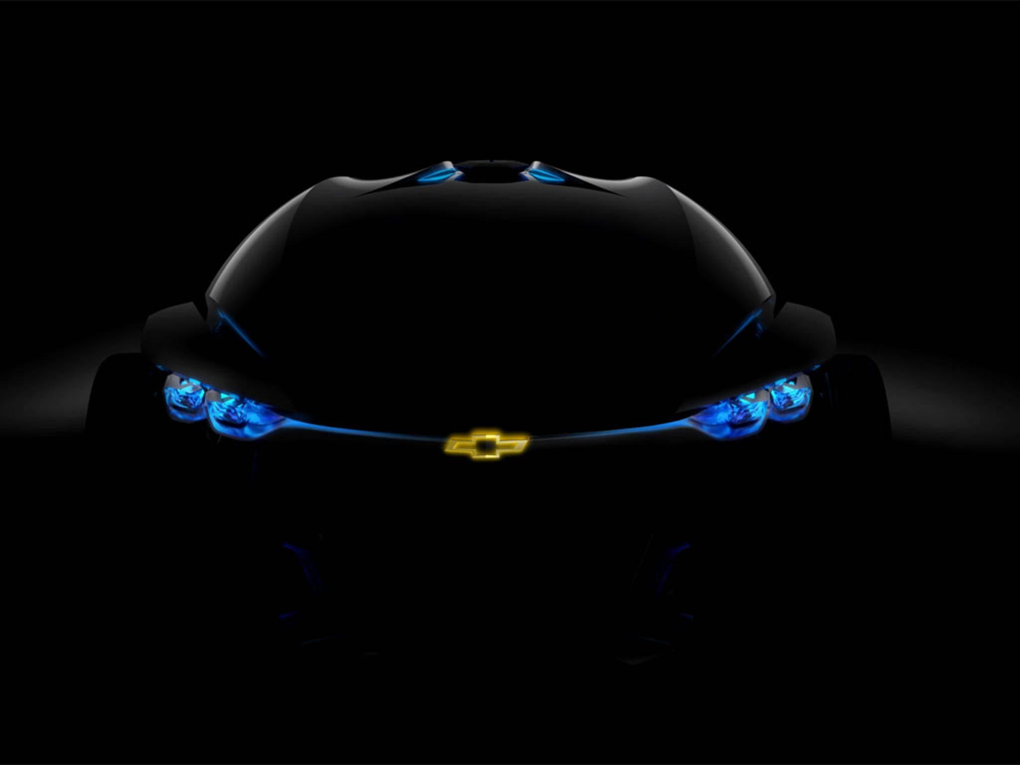 Die Schweinwerfer haben unter anderem blaue LEDs.
