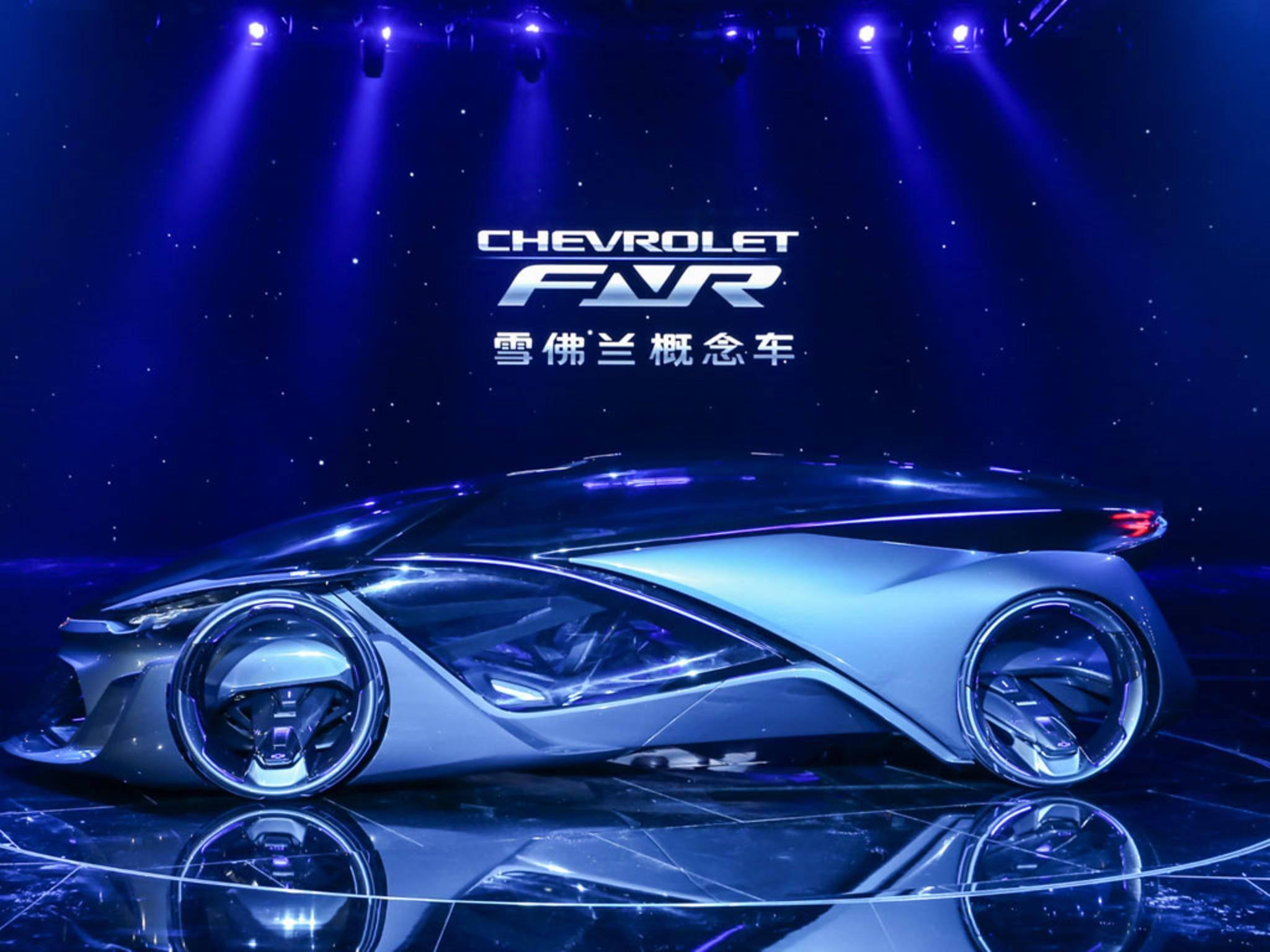 Der Wagen wurde auf einer GM-Gala in Schanghai präsentiert.