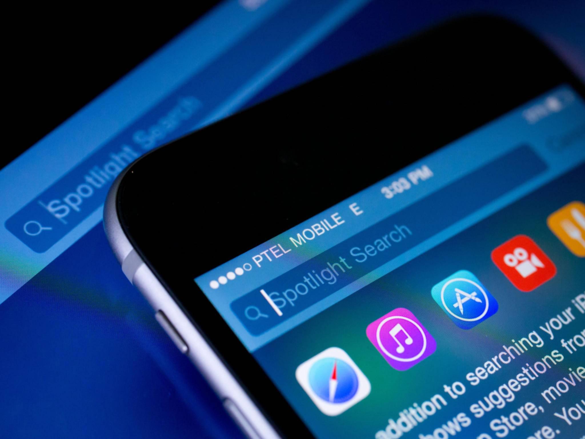 Auch in iOS 10 bleiben Teile der System-Apps nach dem Löschen erhalten.