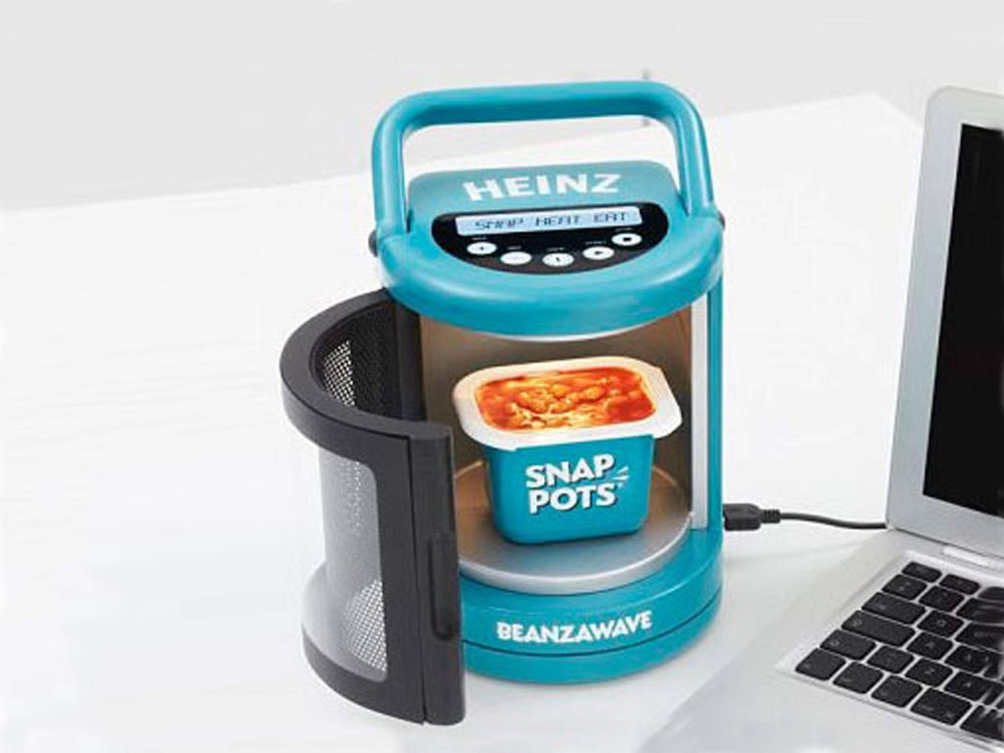 Heißer Ofen am USB-Draht: Mit diesem Gadget kann man Essen warm machen.