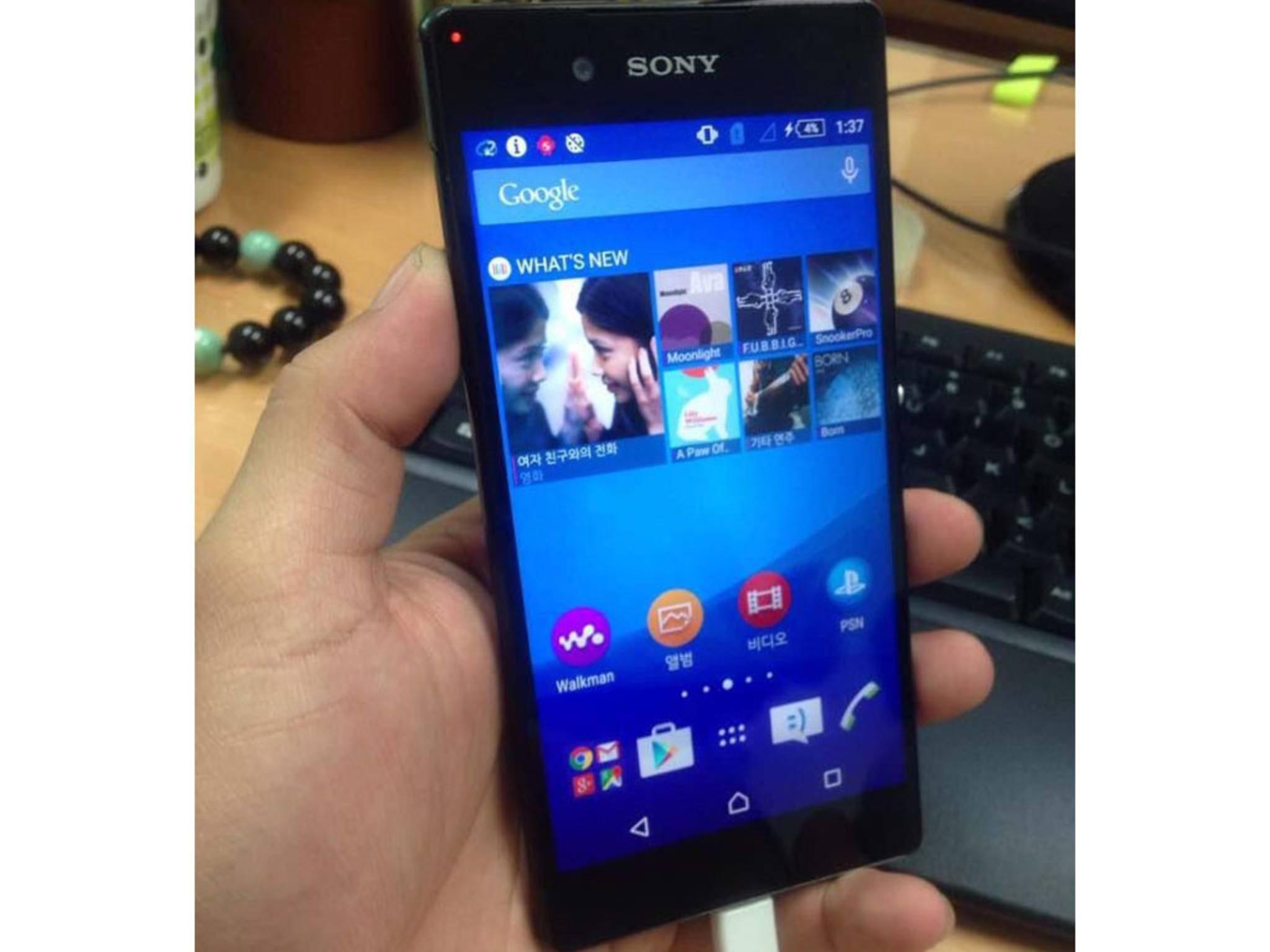 Das Sony Xperia Z4 bzw. Z3+