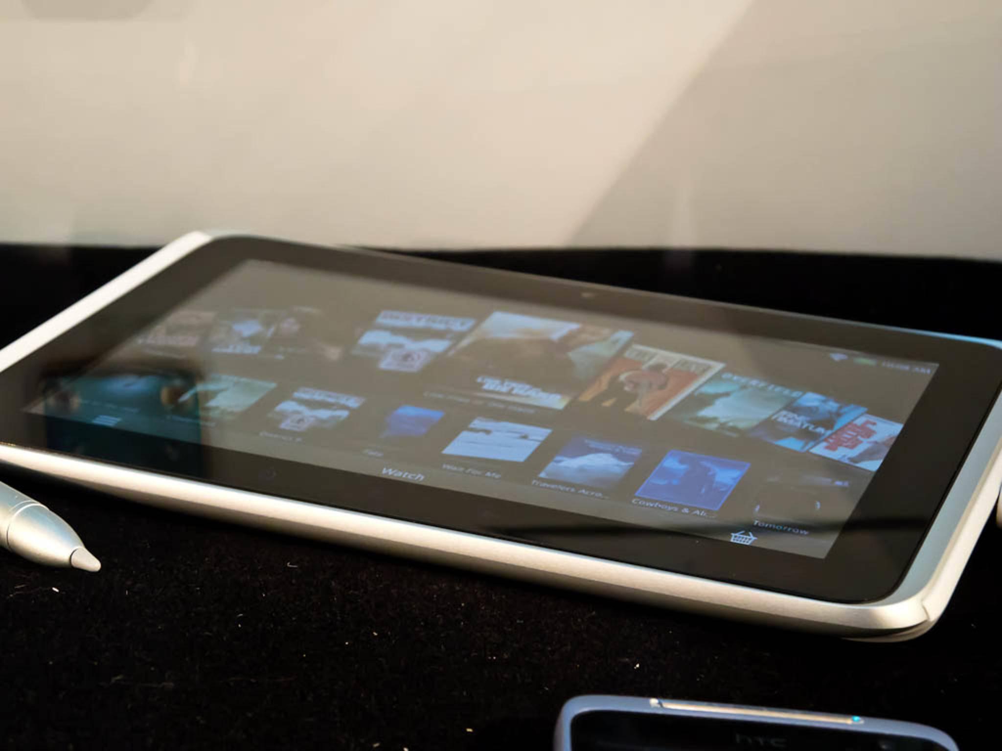 Das letzte erfolgreiche HTC Tablet: Das HTC Flyer.