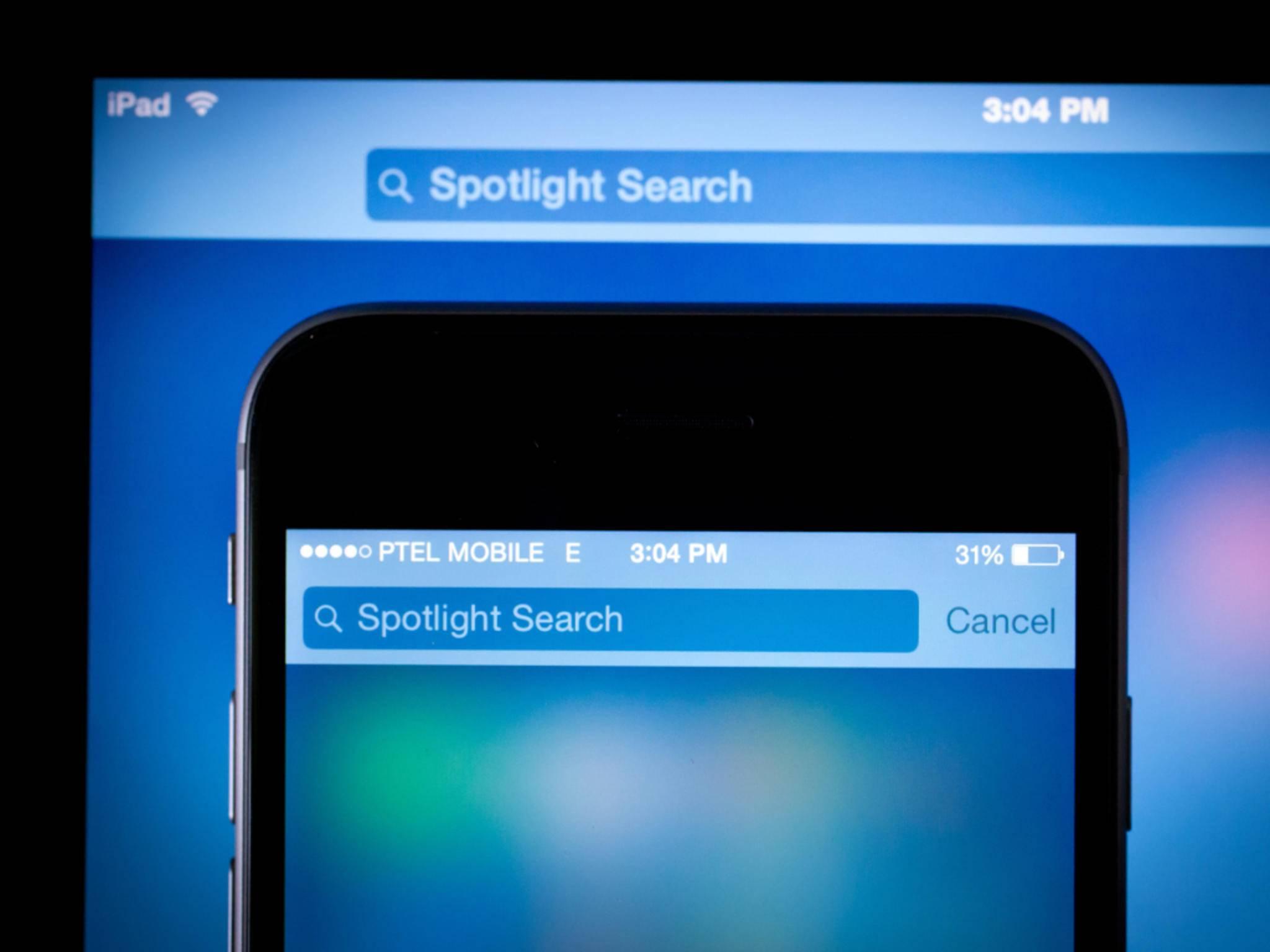 Die Spotlight-Suche kann ruhig deaktiviert werden.