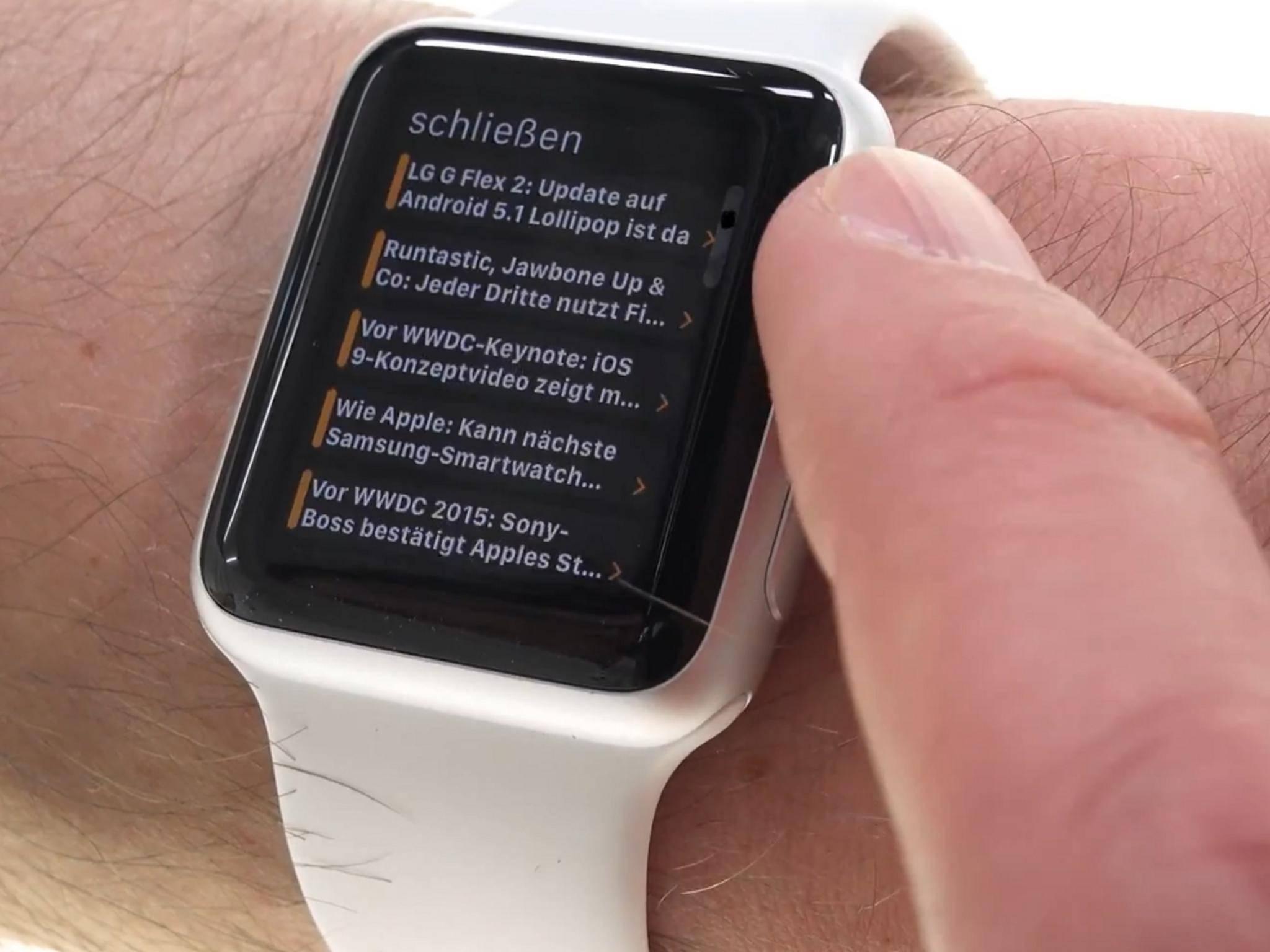Die TURN ON-App versorgt jetzt auch Apple Watch-Träger mit Technik-News.