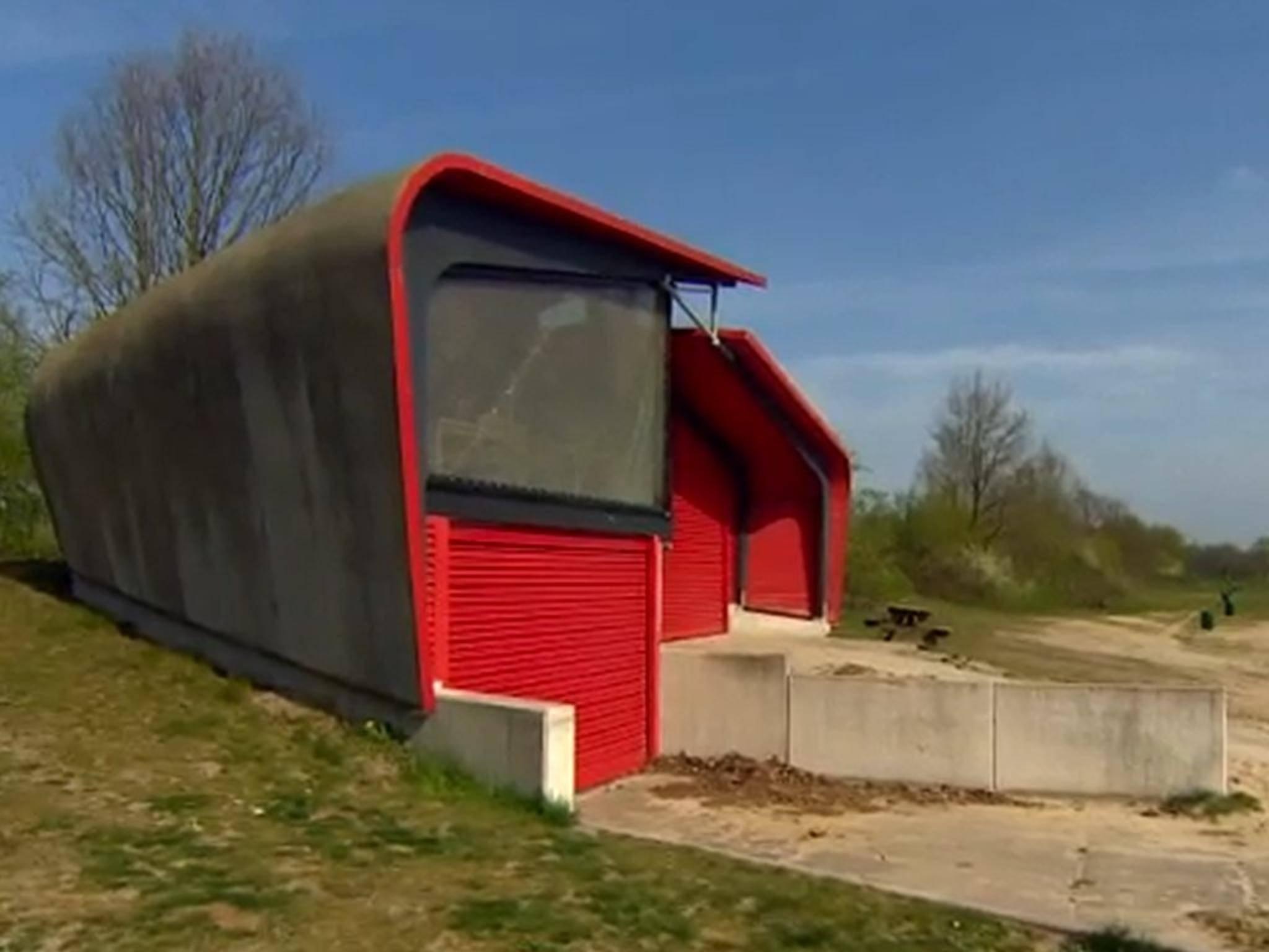 Das erste Gebäude aus Biobeton steht in den Niederlanden.