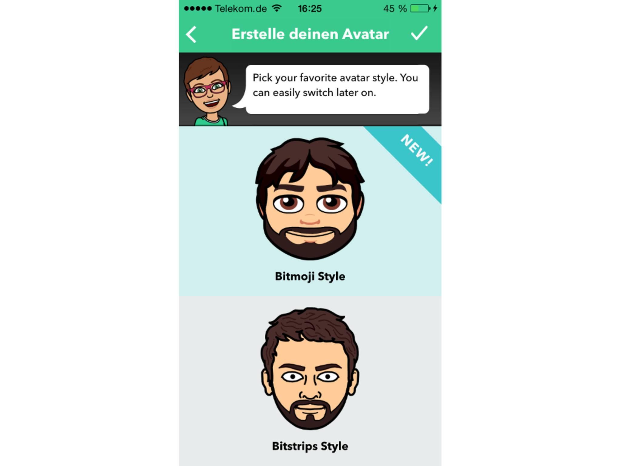 Am Ende könnte Dein Emoji so aussehen.