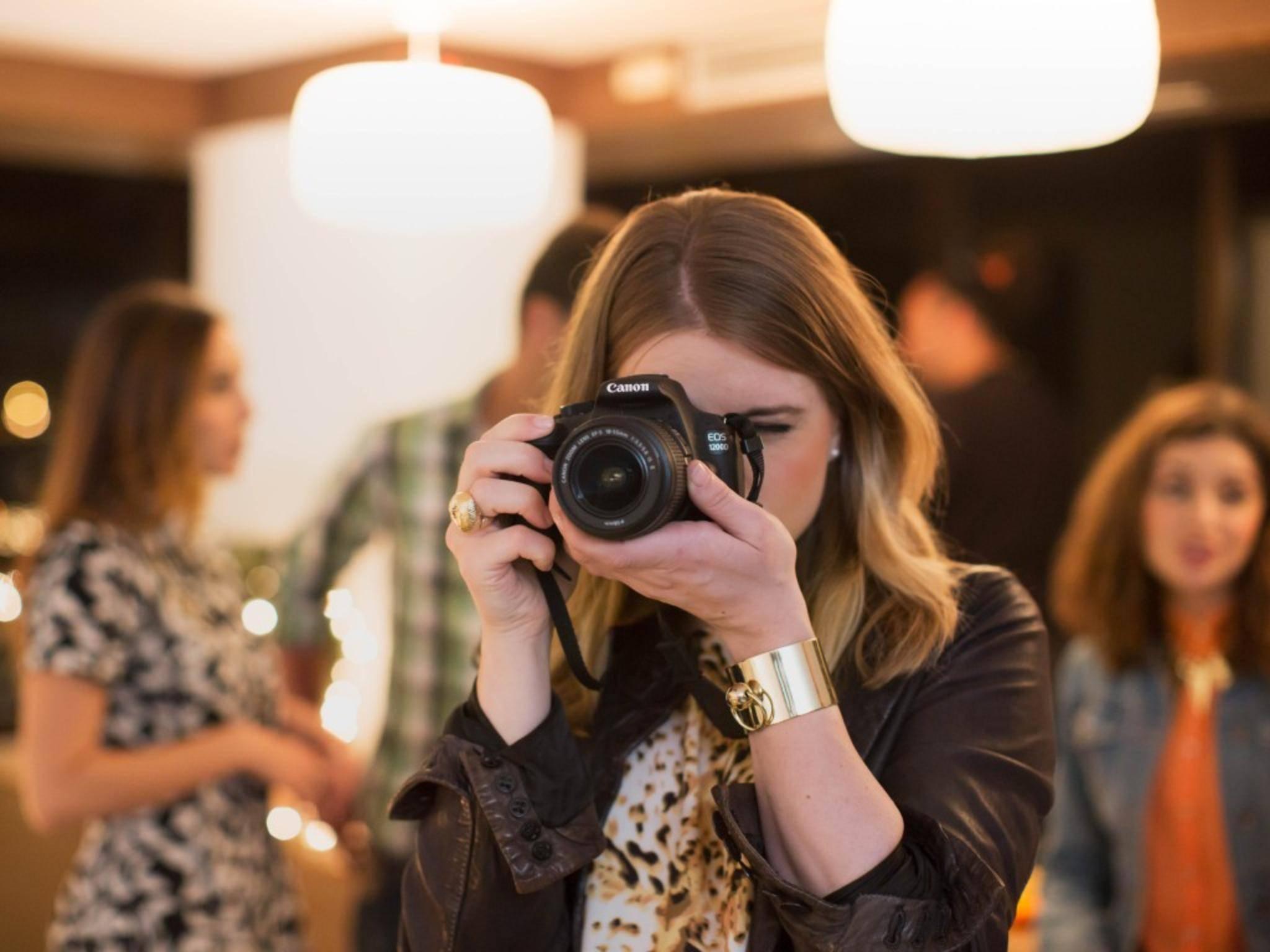 Die EOS 1200D ist Canons Einstiegsmodell in die DSLR-Fotografie.