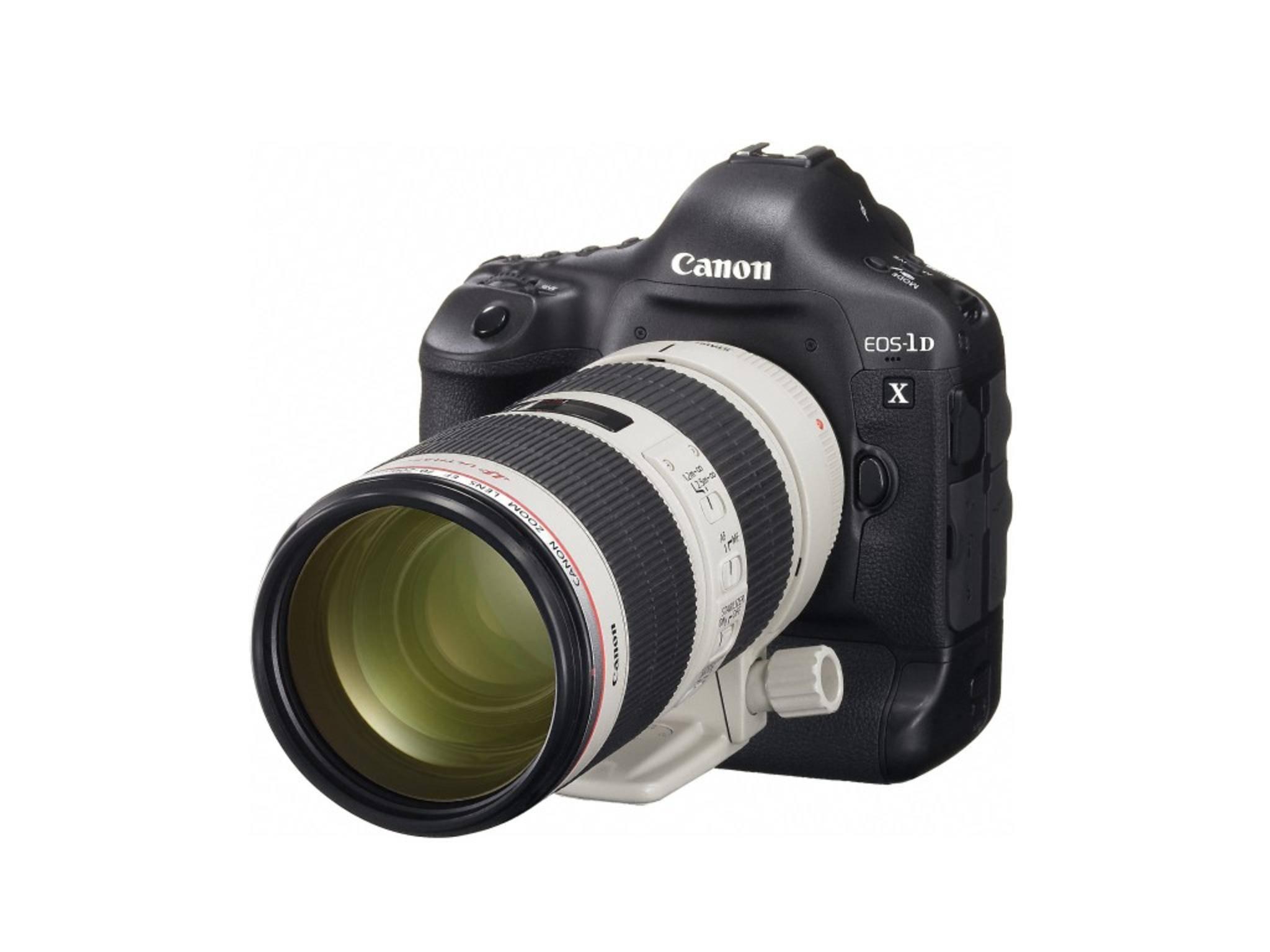 Canons Topmodelle sind aber die EOS-1D X und...