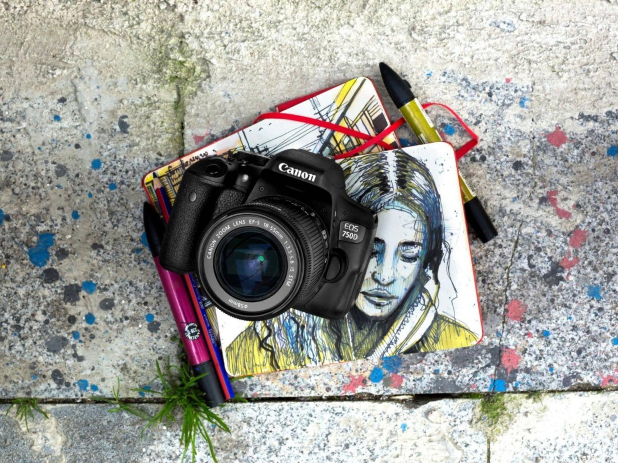 Neu im Programm: die Canon EOS 750D und...