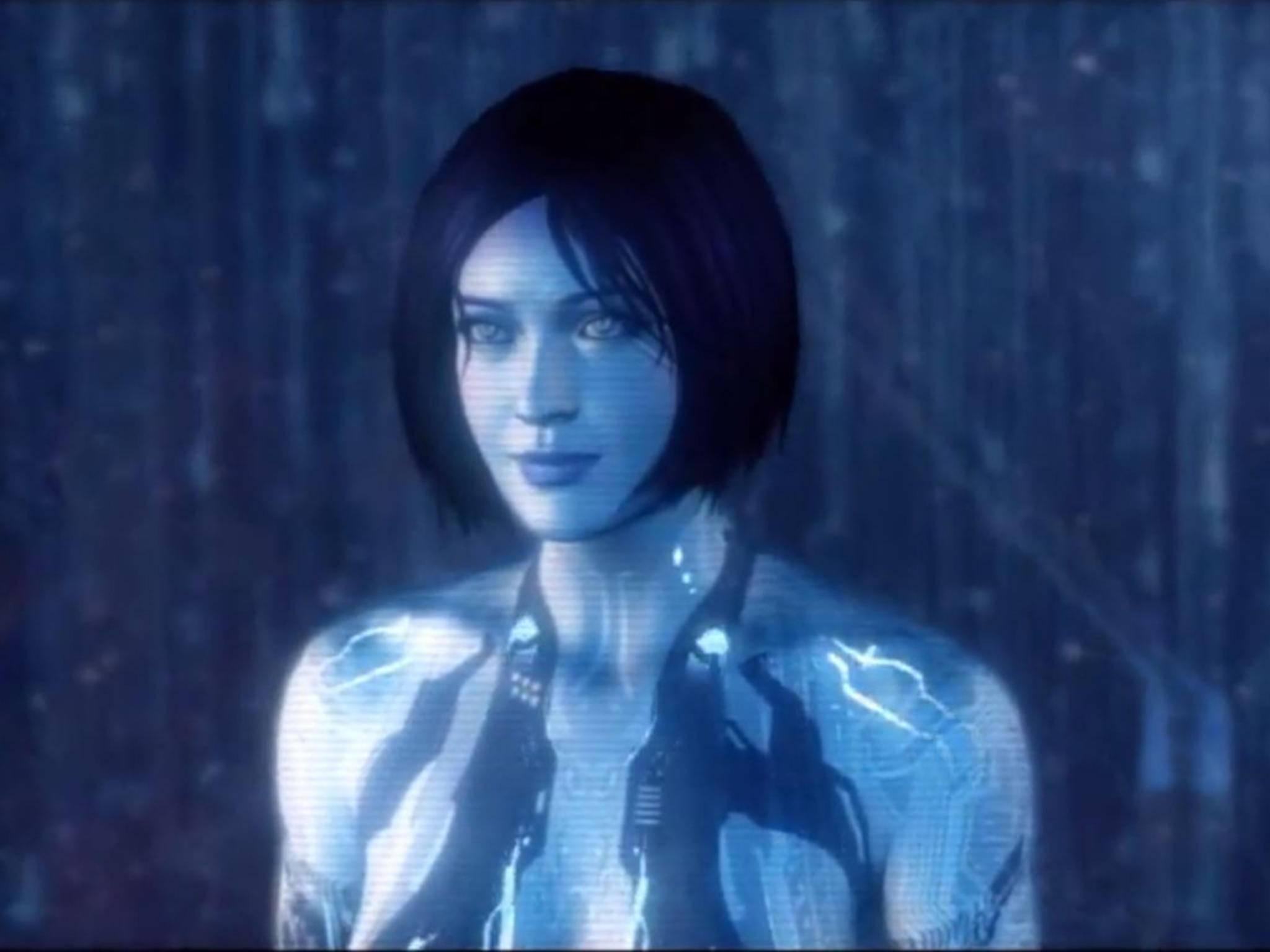 """Der Name Cortana stammt von einer Figur aus demVideospiel """"Halo""""."""