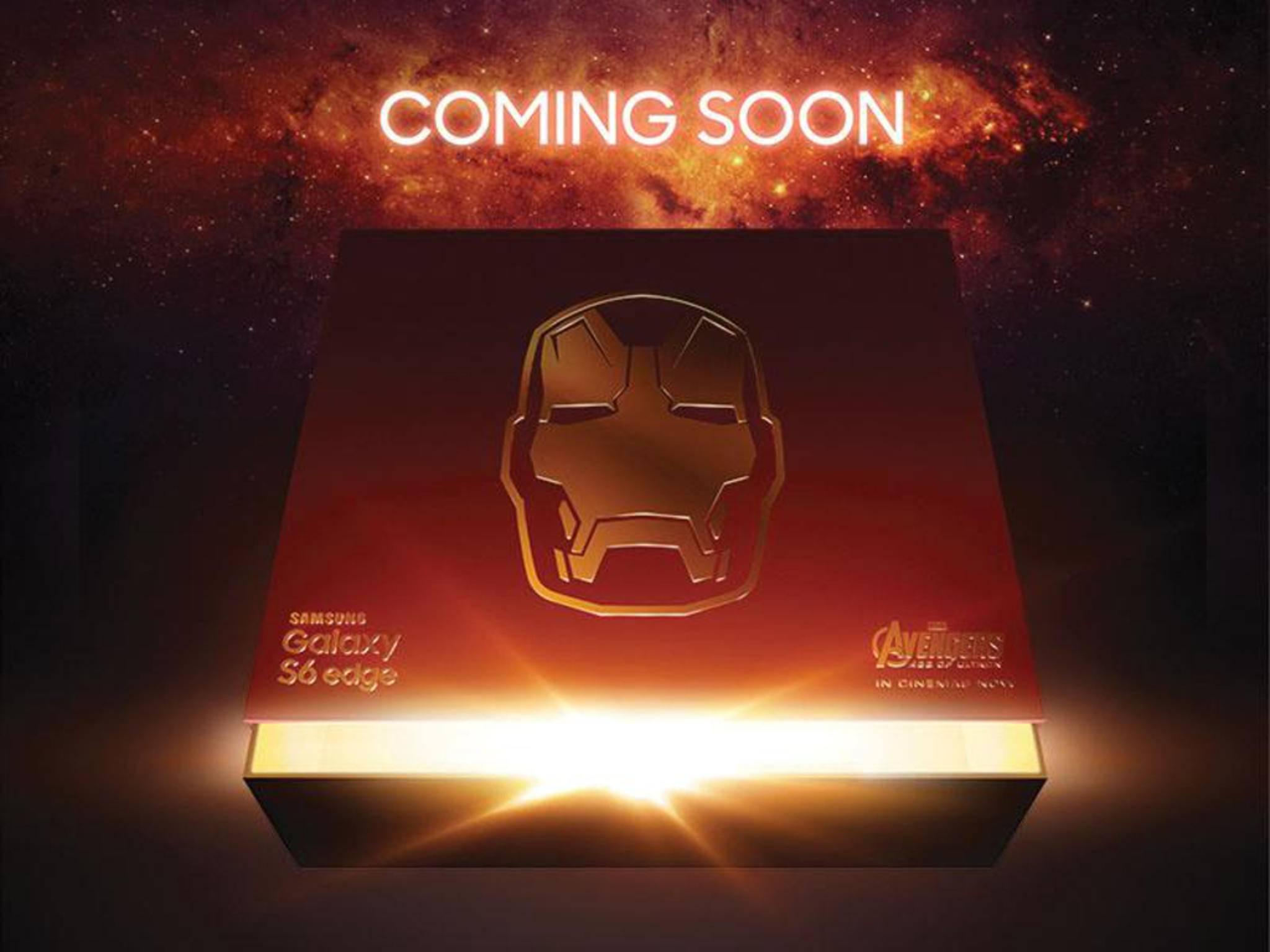 Das Galaxy S6 im Iron-Man-Look: Wie sieht es wohl aus?