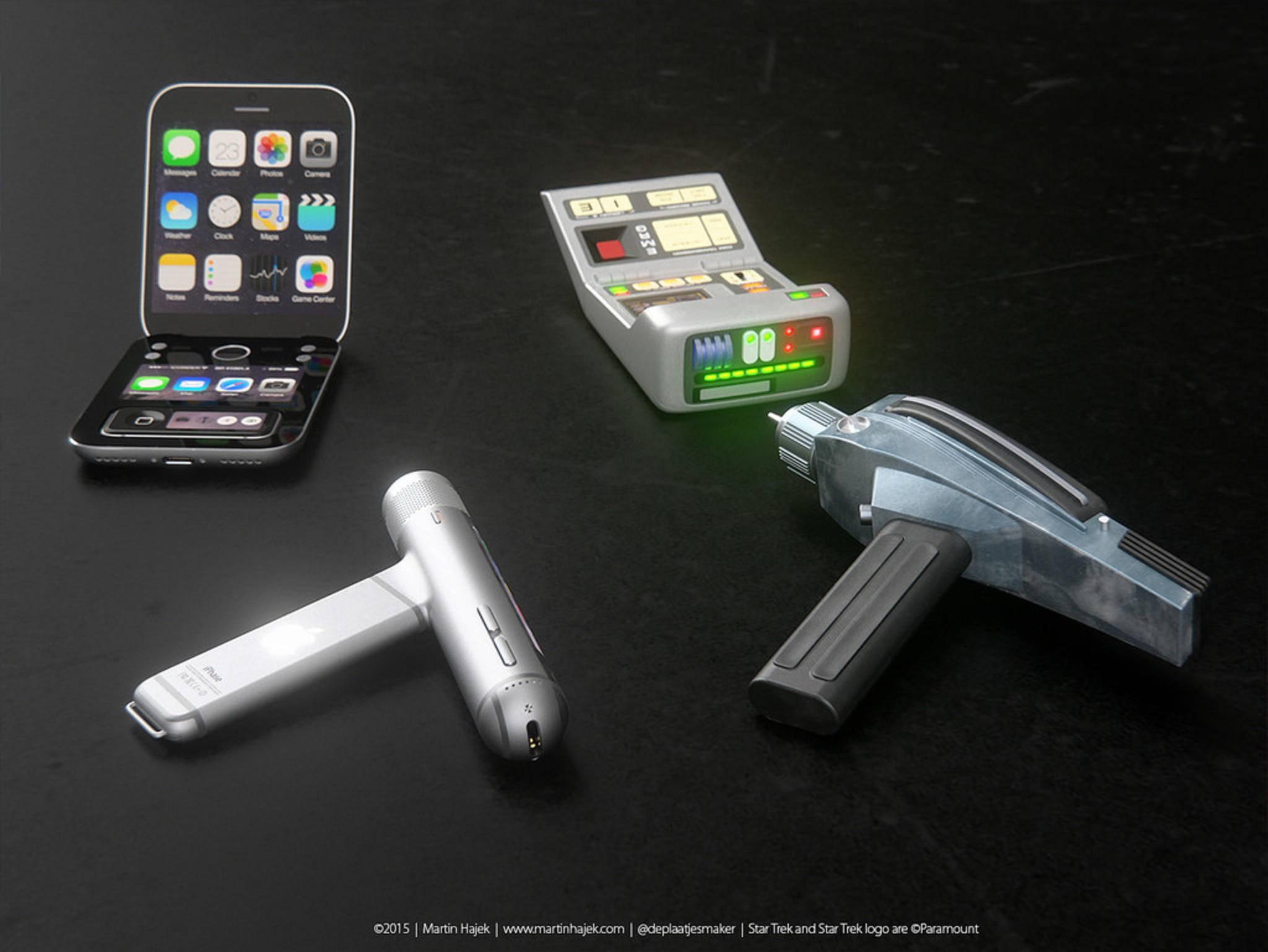 Wenn Tricorder und Phaser von Apple kommen würden...