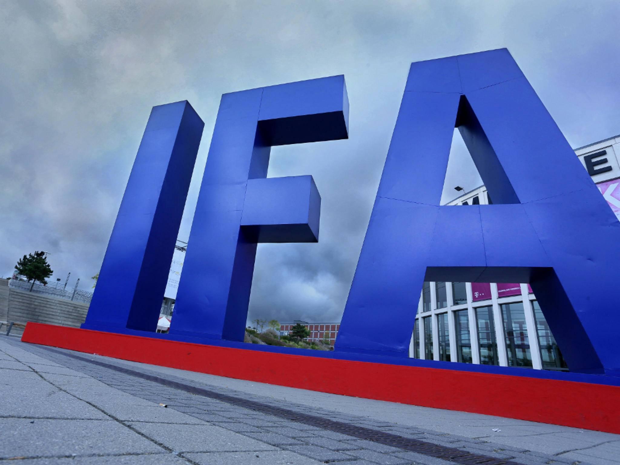 Die IFA findet jedes Jahr in Berlin statt.