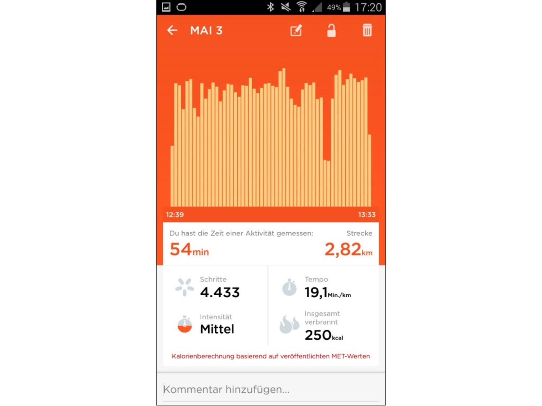 Jawbone Up 2 App Screenshot 16