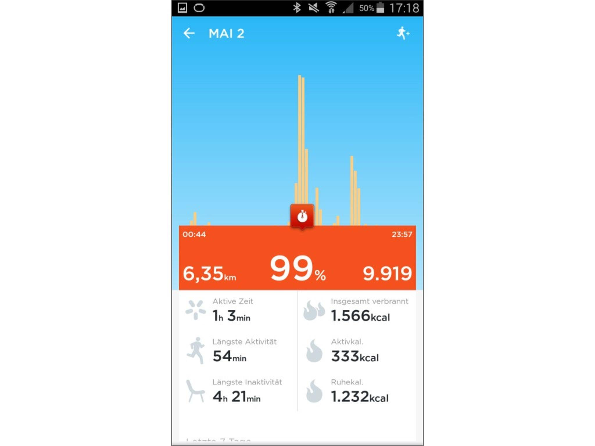 Jawbone Up 2 App Screenshot 9