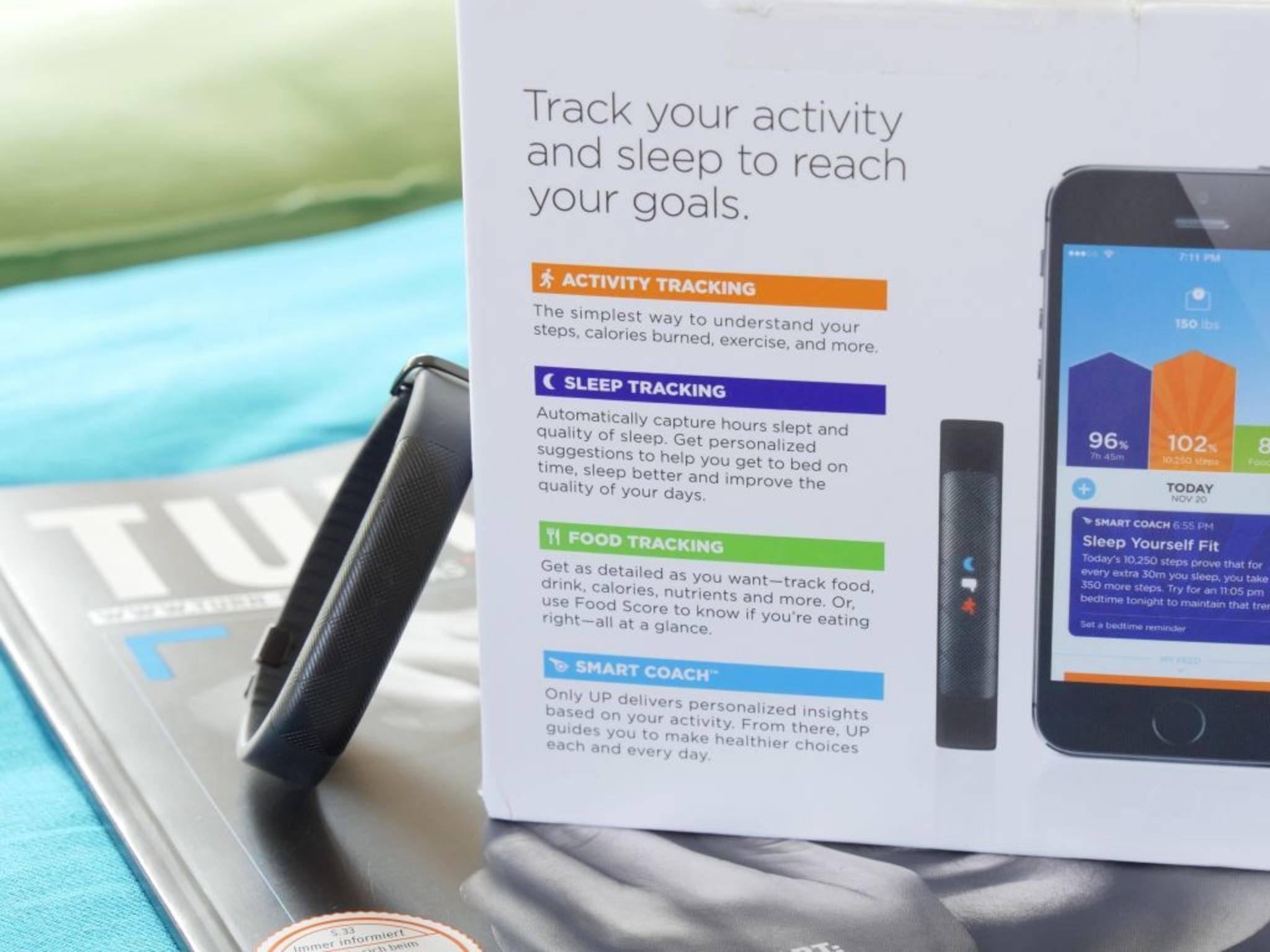 Der Tracker soll hauptsächlich die Aktivität und den Schlaf erfassen.