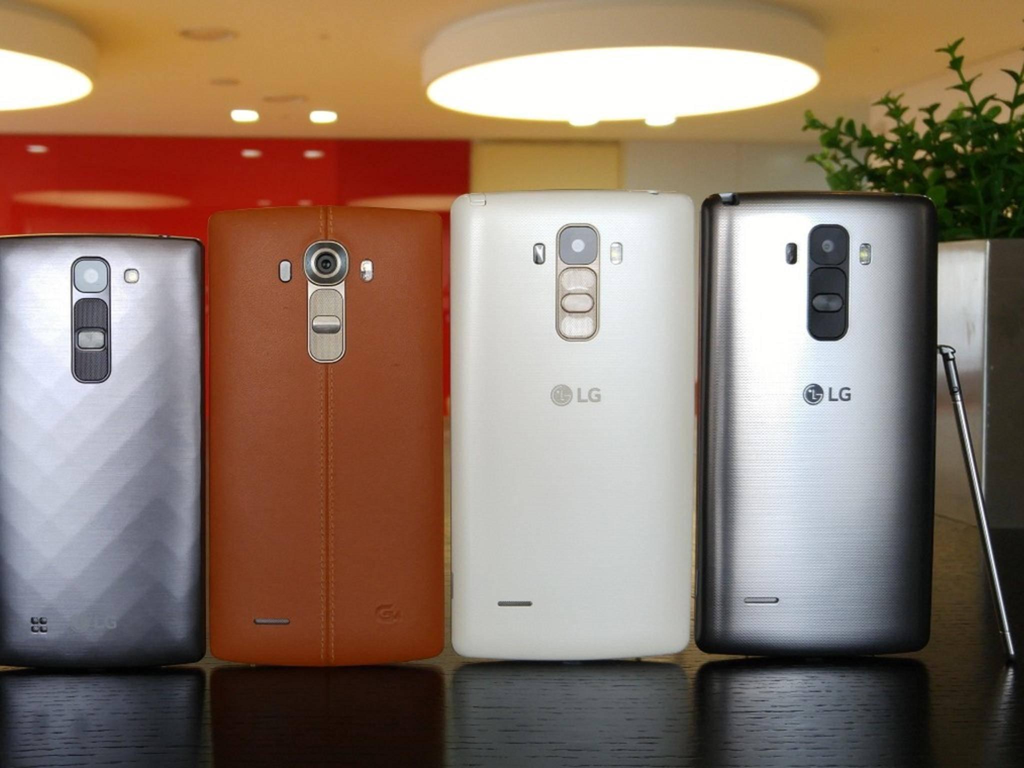 Das LG G4 kommt nicht allein.