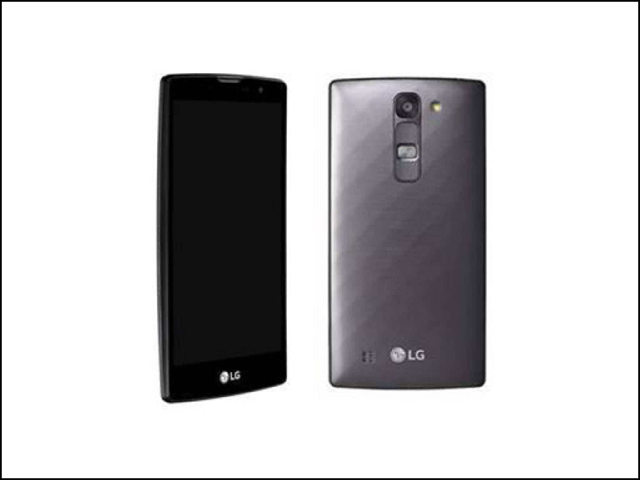 Das LG G4c ähnelt dem G4 äußerlich stark.