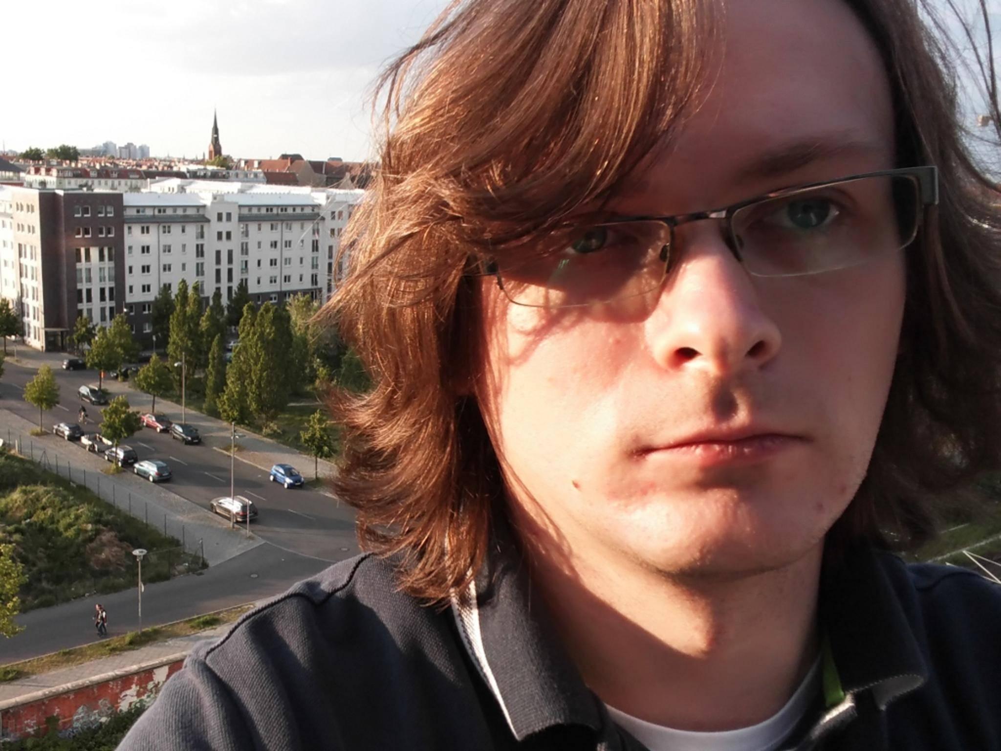 Selfies schießt die Frontkamera mit 8 Megapixeln.