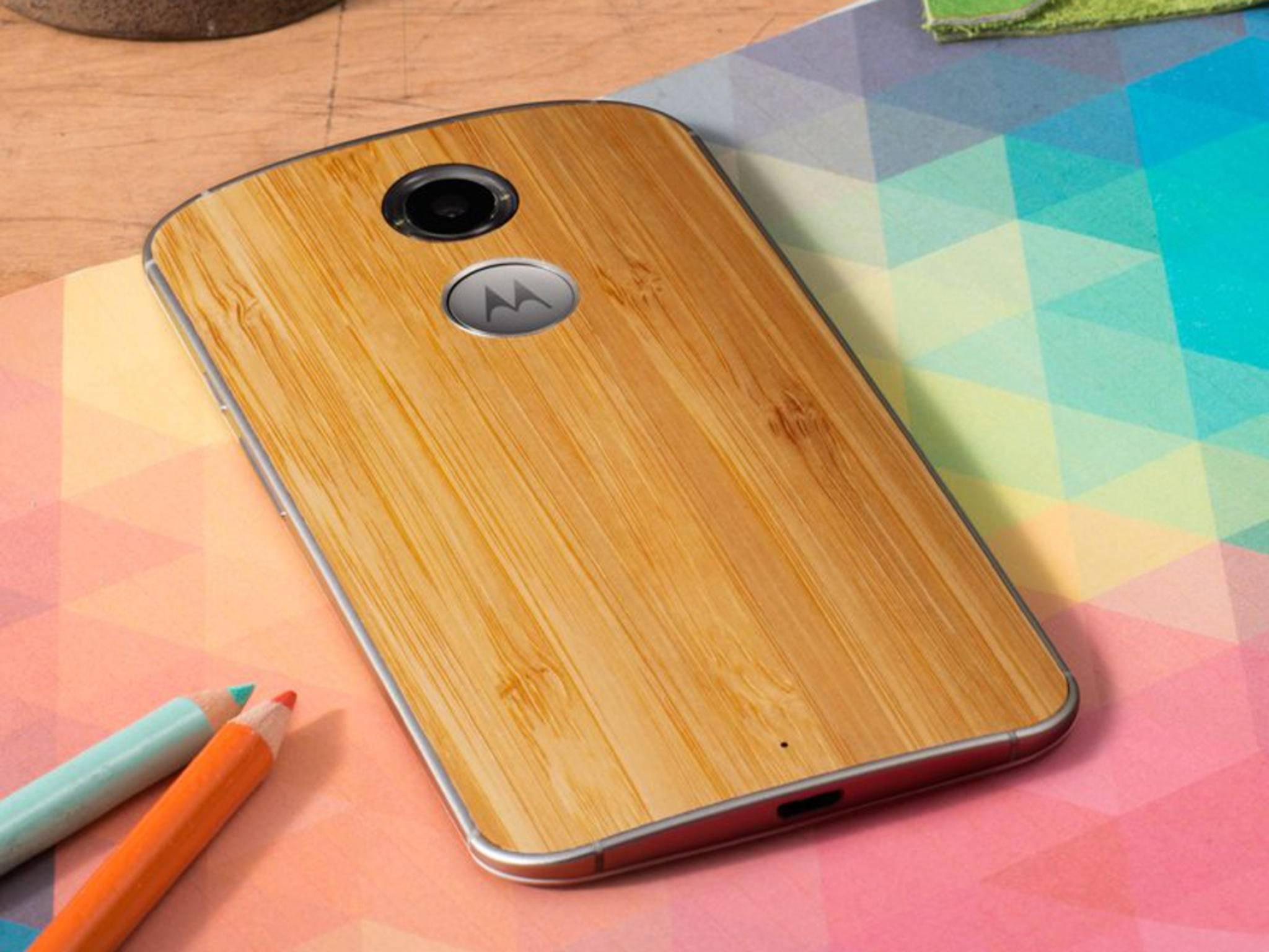 Motorola-Smartphones sollen in Zukunft alle einen Fingerabdruckscanner bekommen.