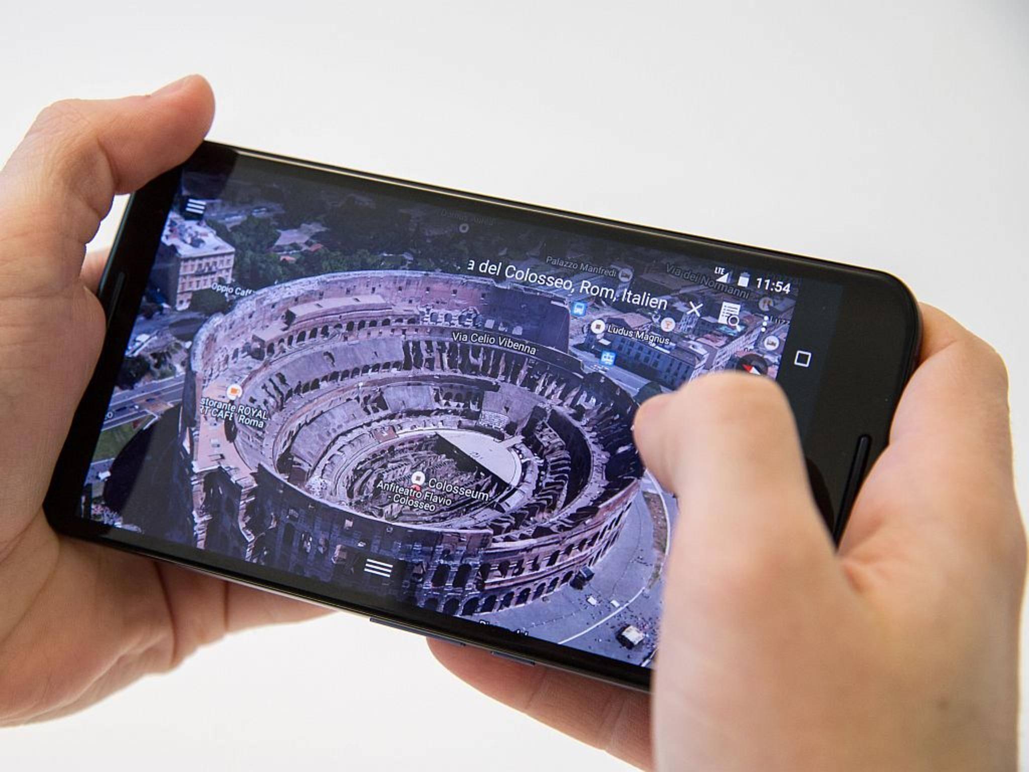 Das Nexus 6 wurde von Motorola gefertigt.