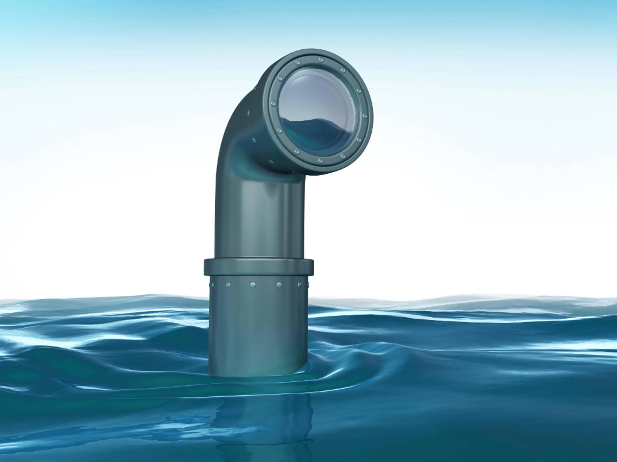 Die App Periscope hat mit dem U-Boot-Bauteil nur wenig gemeinsam.