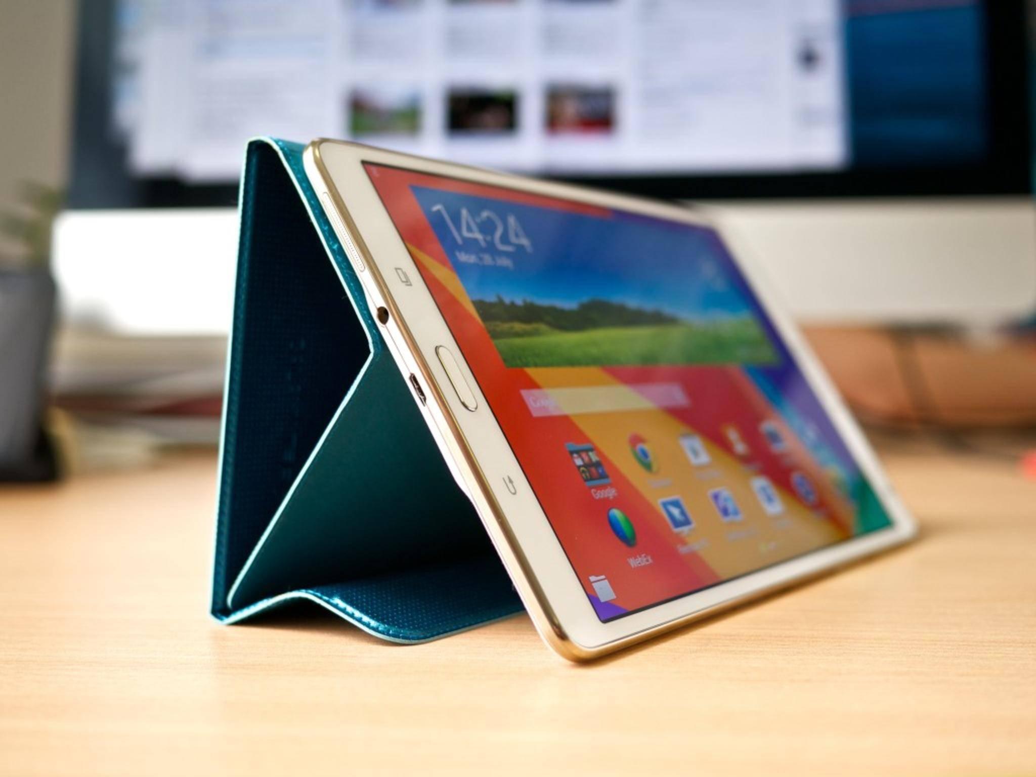 Das Samsung Galaxy Tab S könnte schon bald einen Nachfolger bekommen.