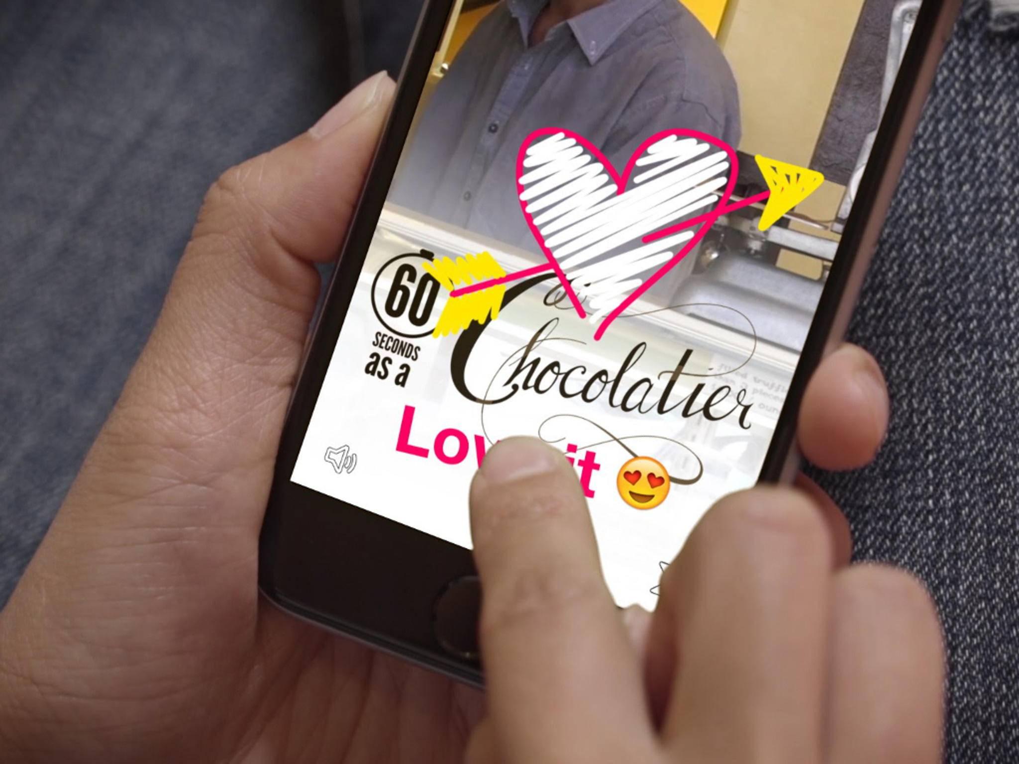 Nach Instagram und Facebook will nun auch Apple Snapchat-Feeling bieten.
