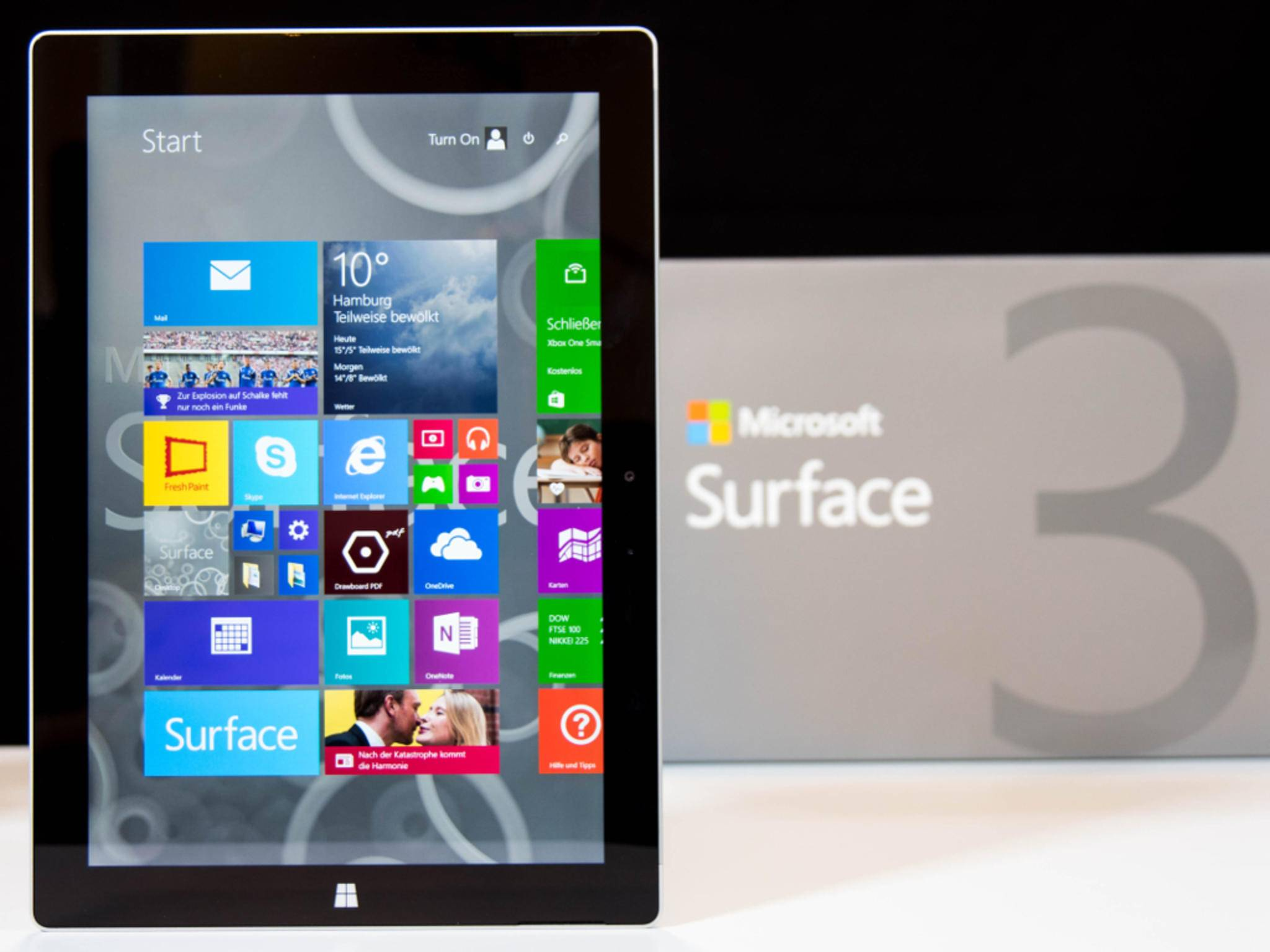 Surface 3 und Surface Pro 3 unterscheiden sich in vielen Punkten.