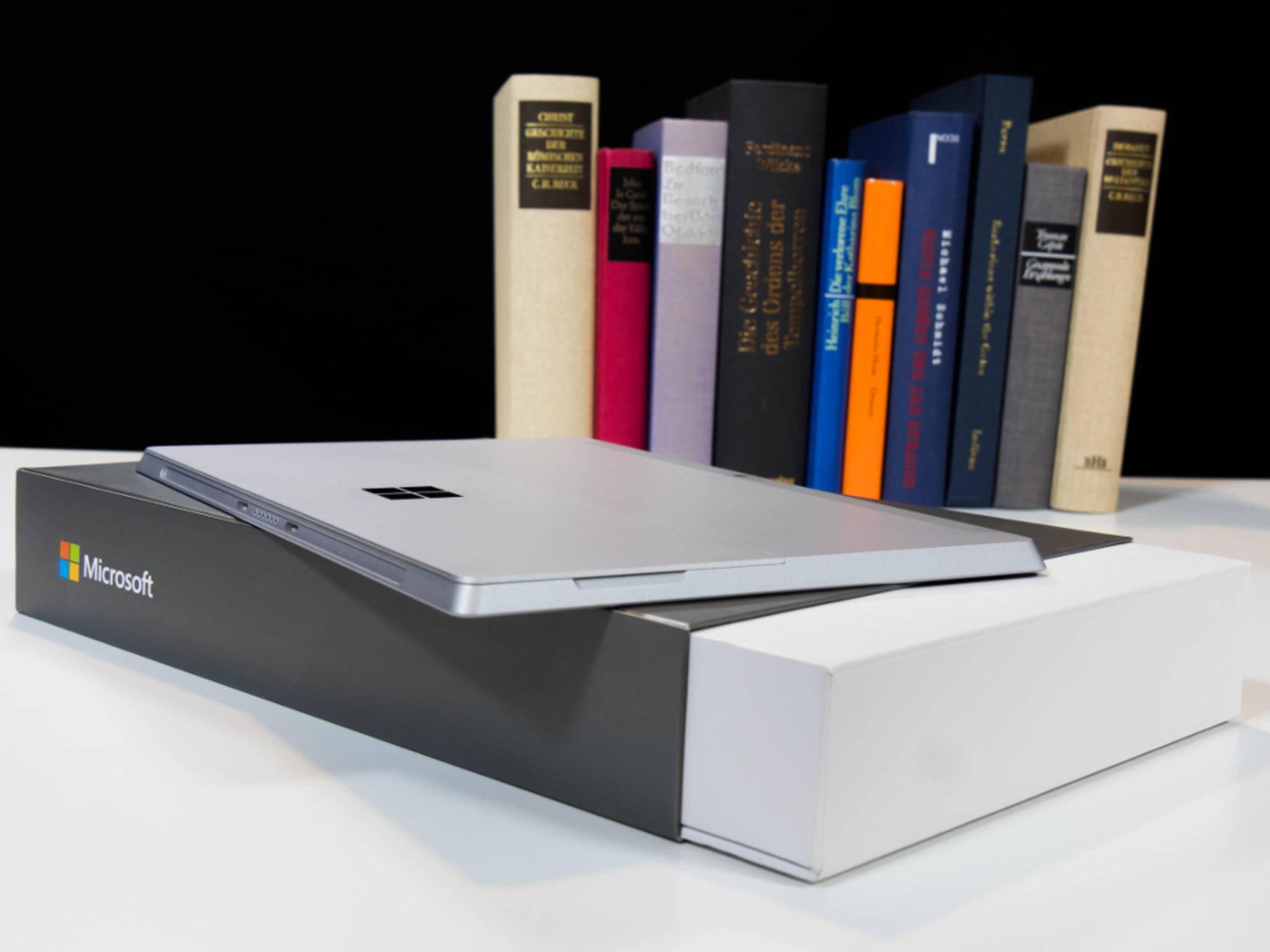 Das Surface 3 ist deutlich leichter als sein Pro-Bruder.