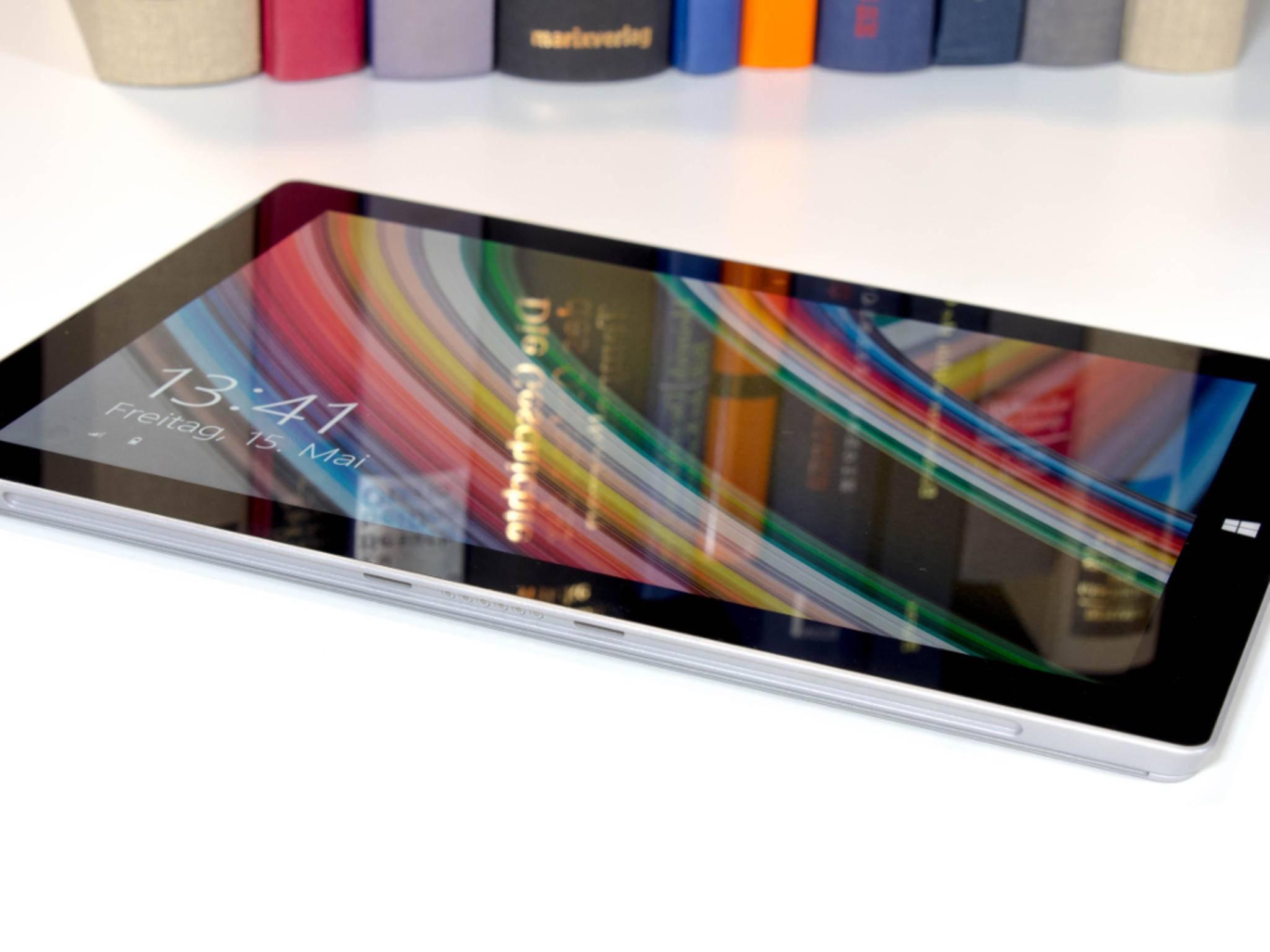 Das Surface 3 kommt im schicken Magnesium-Gehäuse daher.