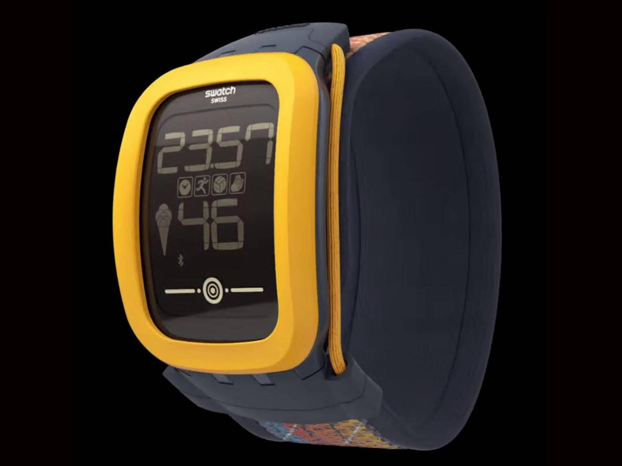 Die Touch Zero One: Swatchs Antwort auf Apple Watch und Co.