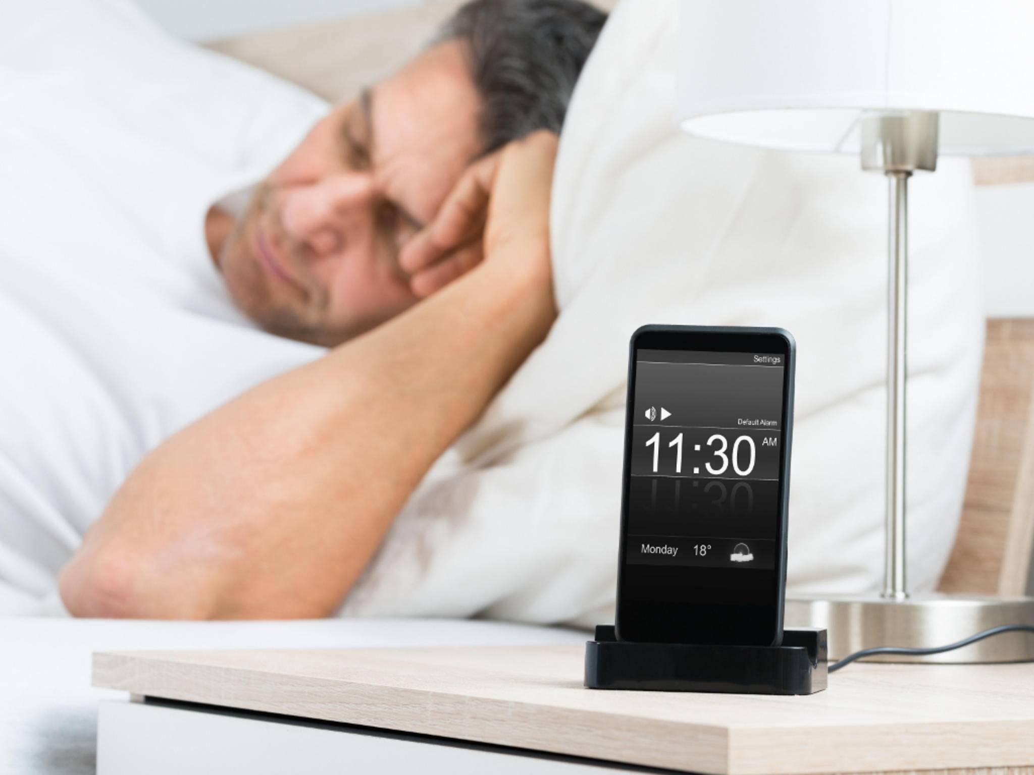 Der iOS 10-Wecker soll beim besseren Schlafen helfen.