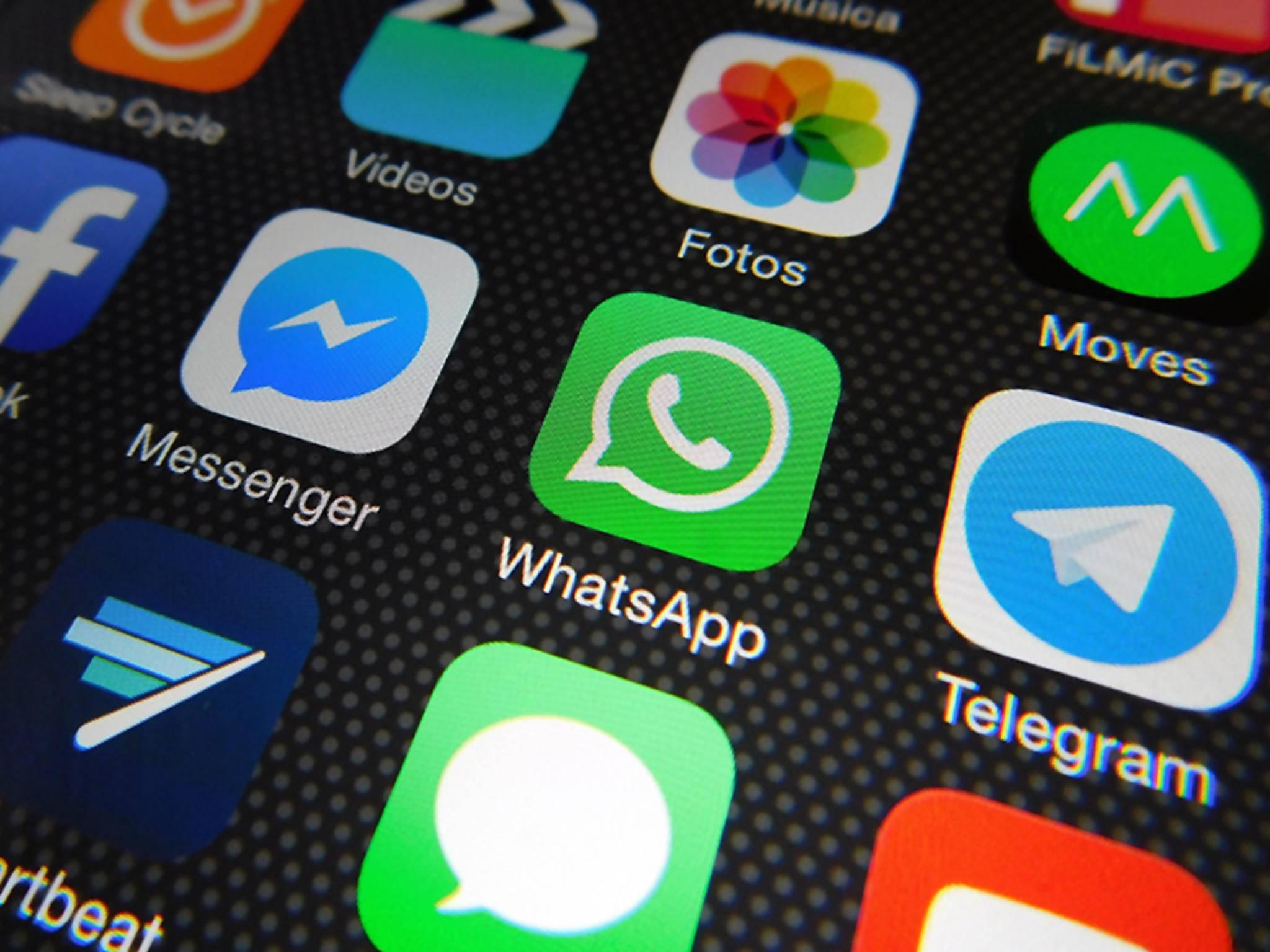 Möglicherweise können bald Dokumente über WhatsApp geschickt werden.
