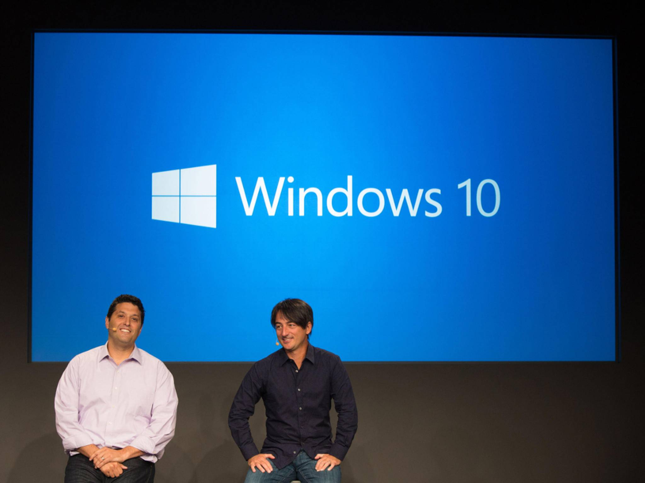 Grund zur Freude bei Microsoft: Windows 10 kommt gut an.