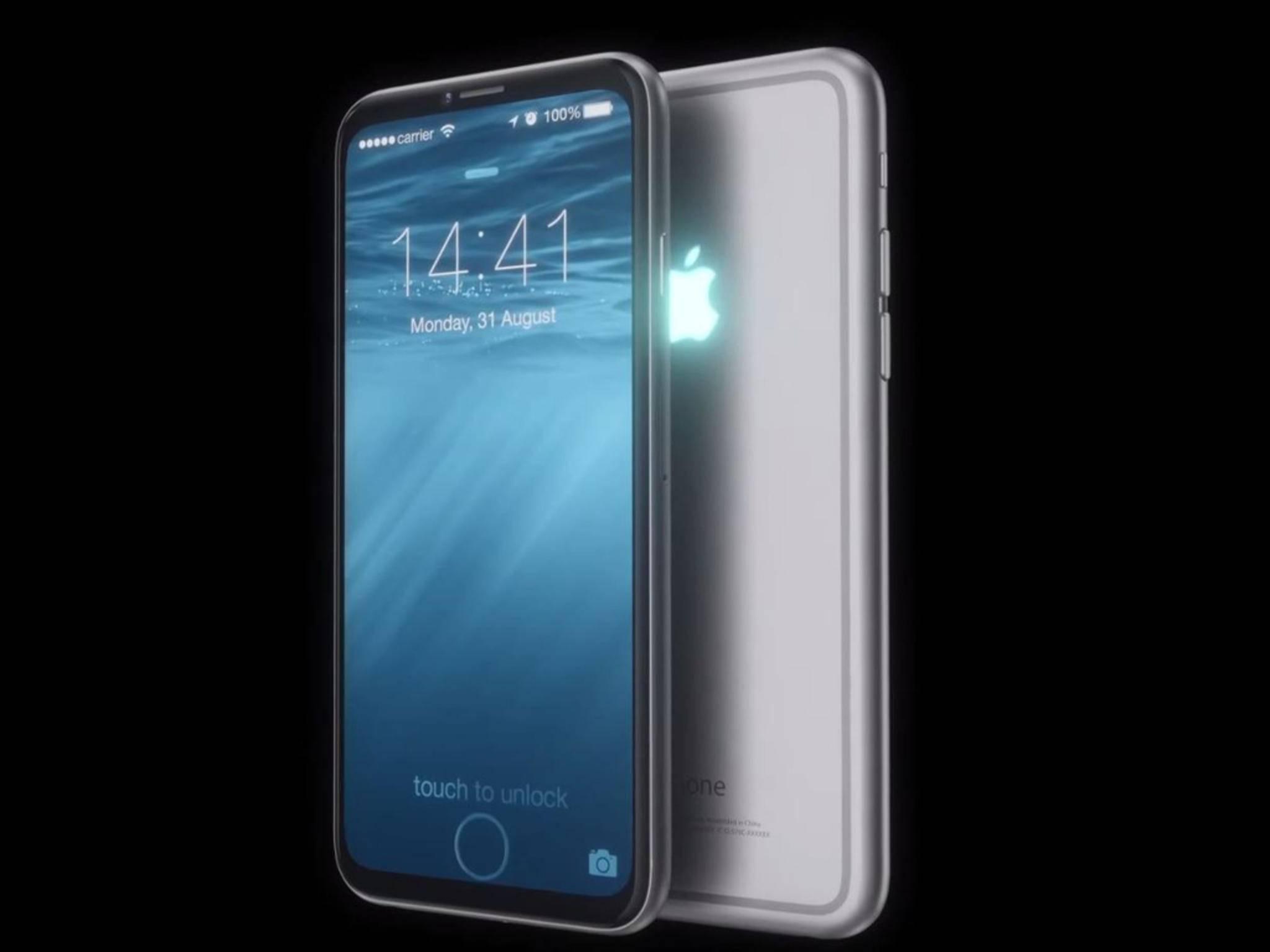 Anders als in diesem Konzept wird das iPhone 7 wohl immer noch einen Home-Button haben.