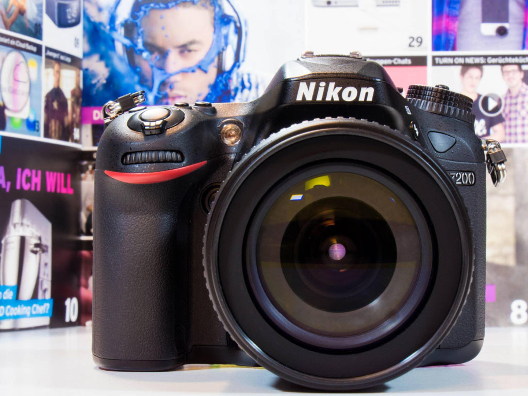 DSLR-Modelle wie die Nikon D7200 bringen natürlich eine gewisse Größe mit.