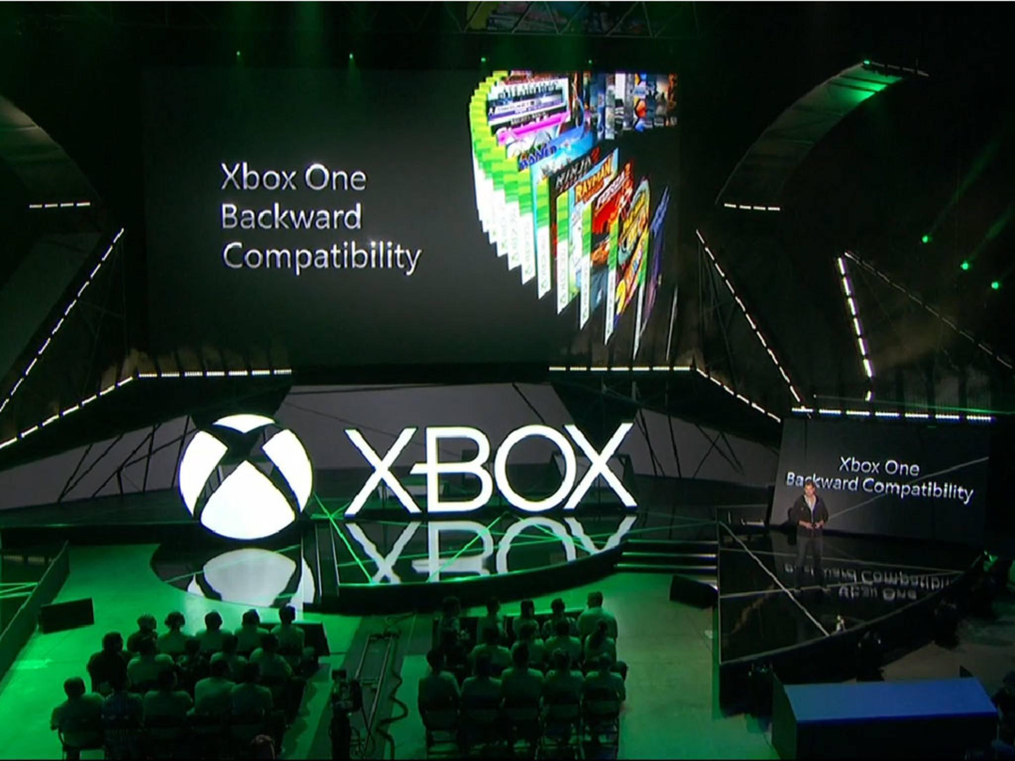 Microsoft legt vor: Die Xbox One wird abwärtskompatibel.