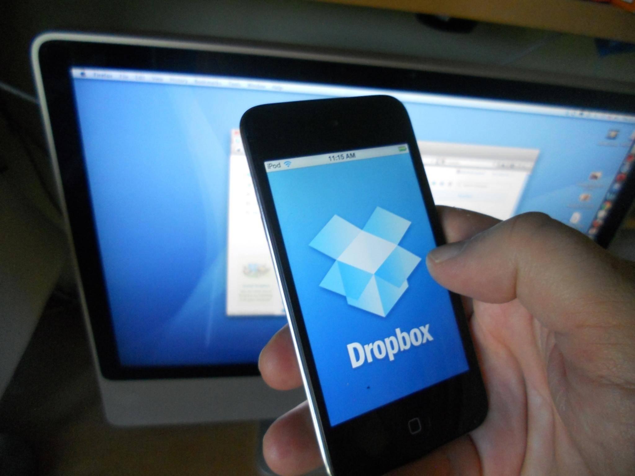 Ob auf dem Rechner oder mobil: Dropbox stellt Daten auf allen Geräten bereit.