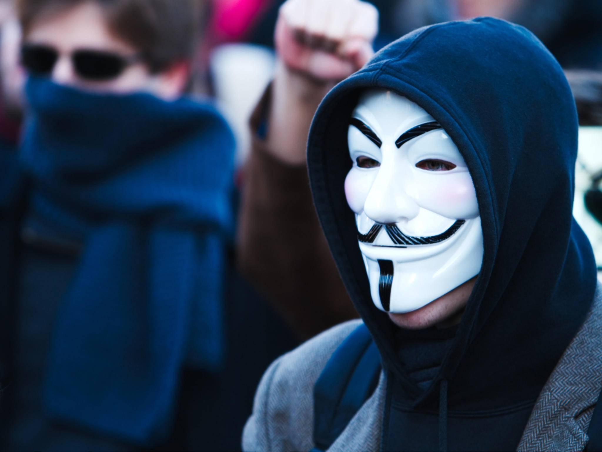 Das Social network Minds wird von Anonymous unterstützt.
