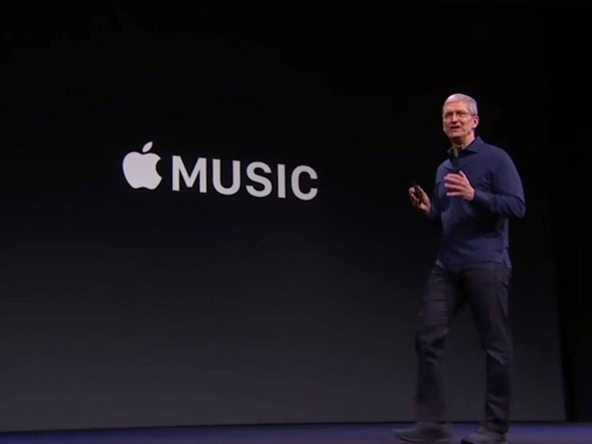 Apple Music will es mit allen anderen Diensten aufnehmen.