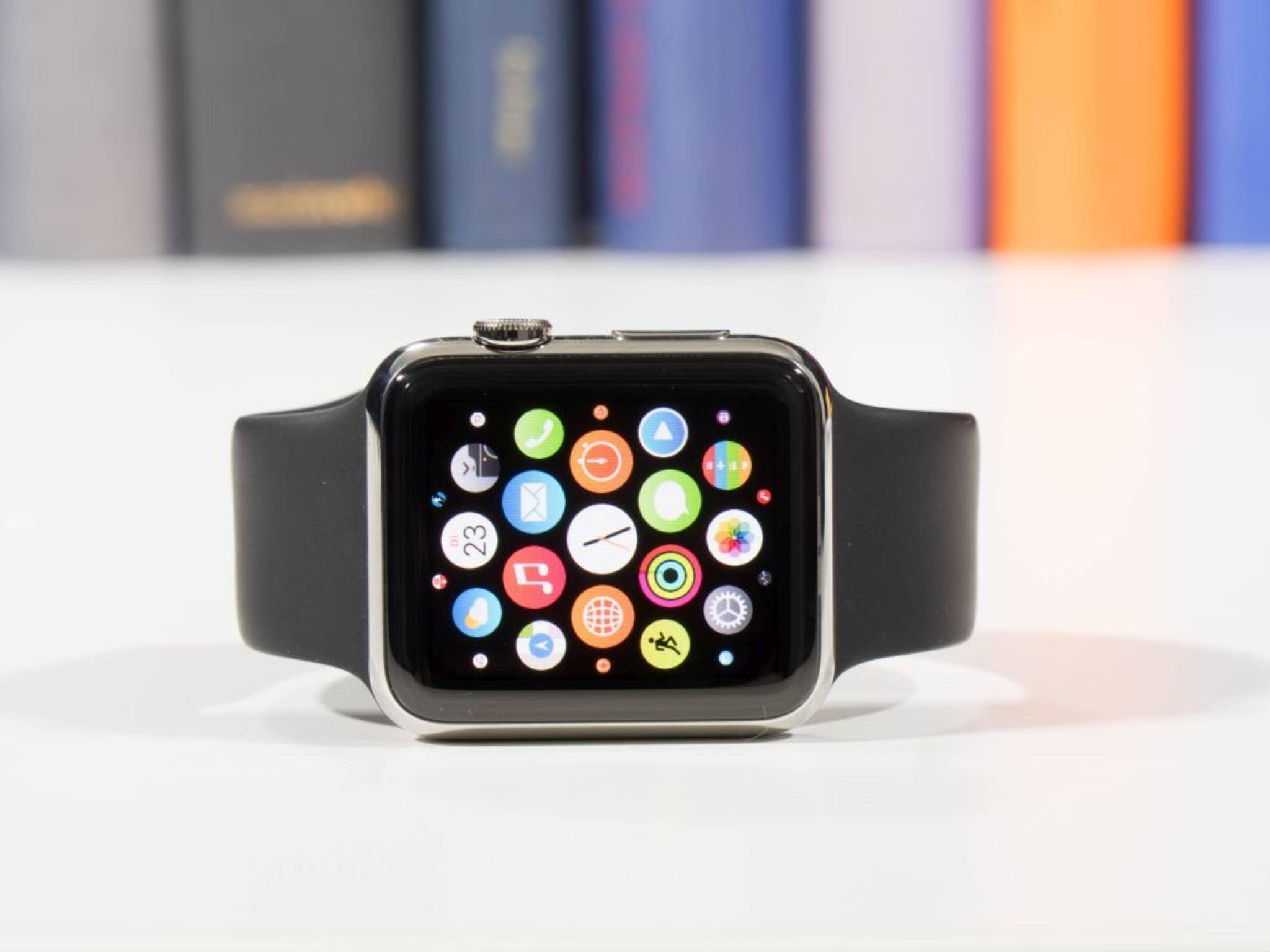 Die Apple Watch 2 soll frühestens Mitte 2016 erscheinen.