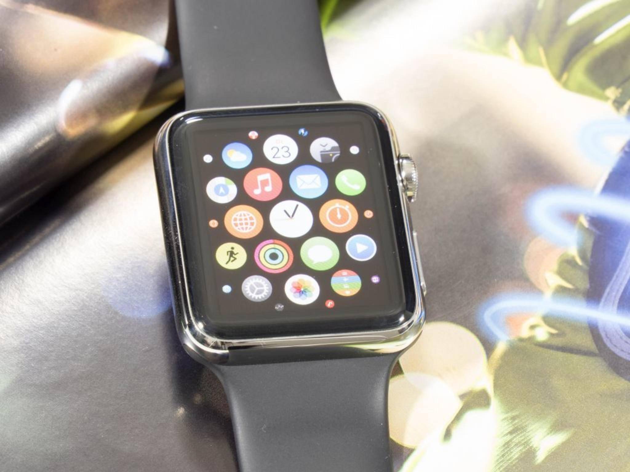 Bei der Apple Watch 2 soll sich in puncto Größe, Auflösung und Form nichts ändern.