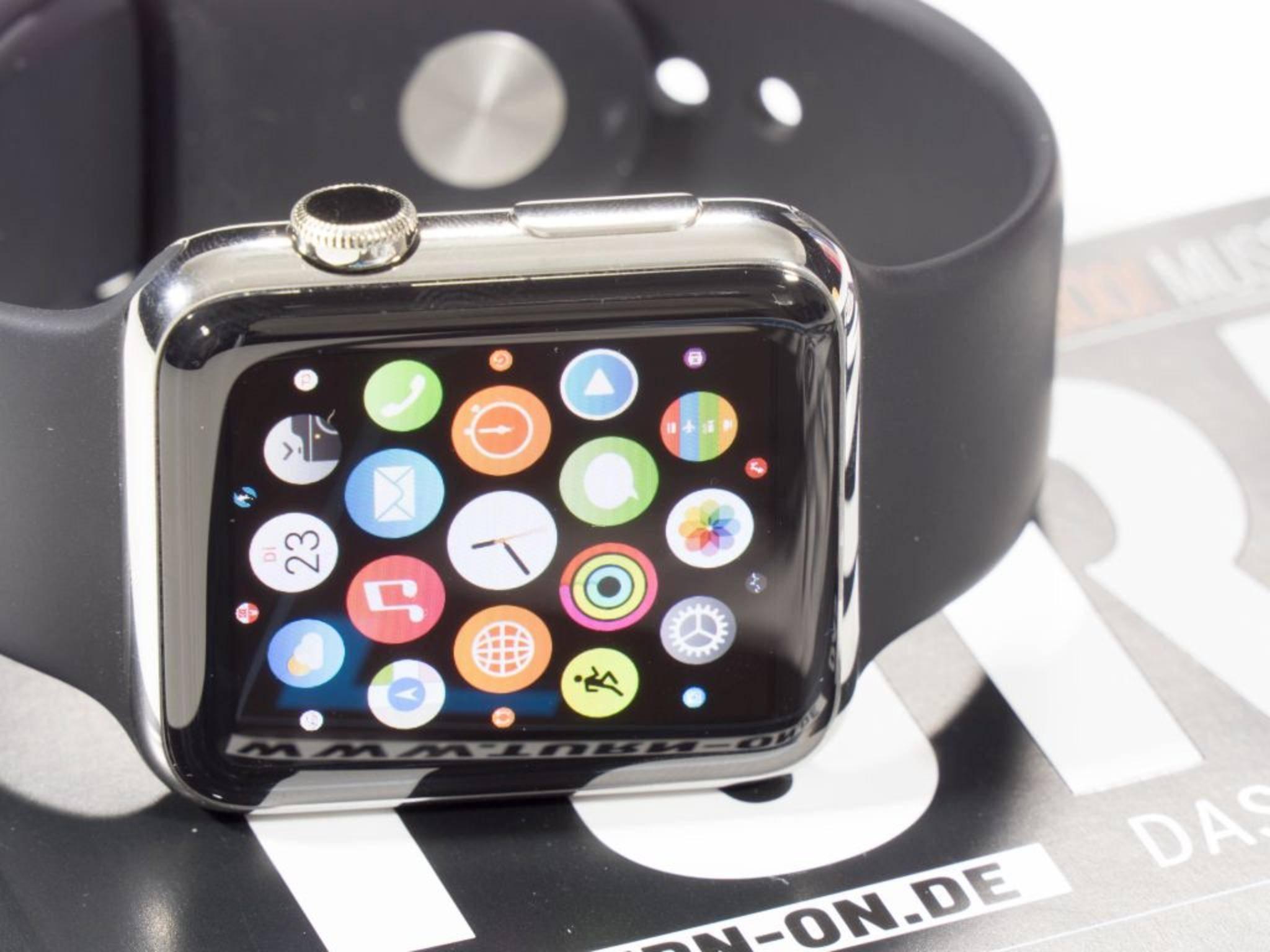 Die Apple Watch kann als Fernauslöser für die iPhone-Kamera fungieren.